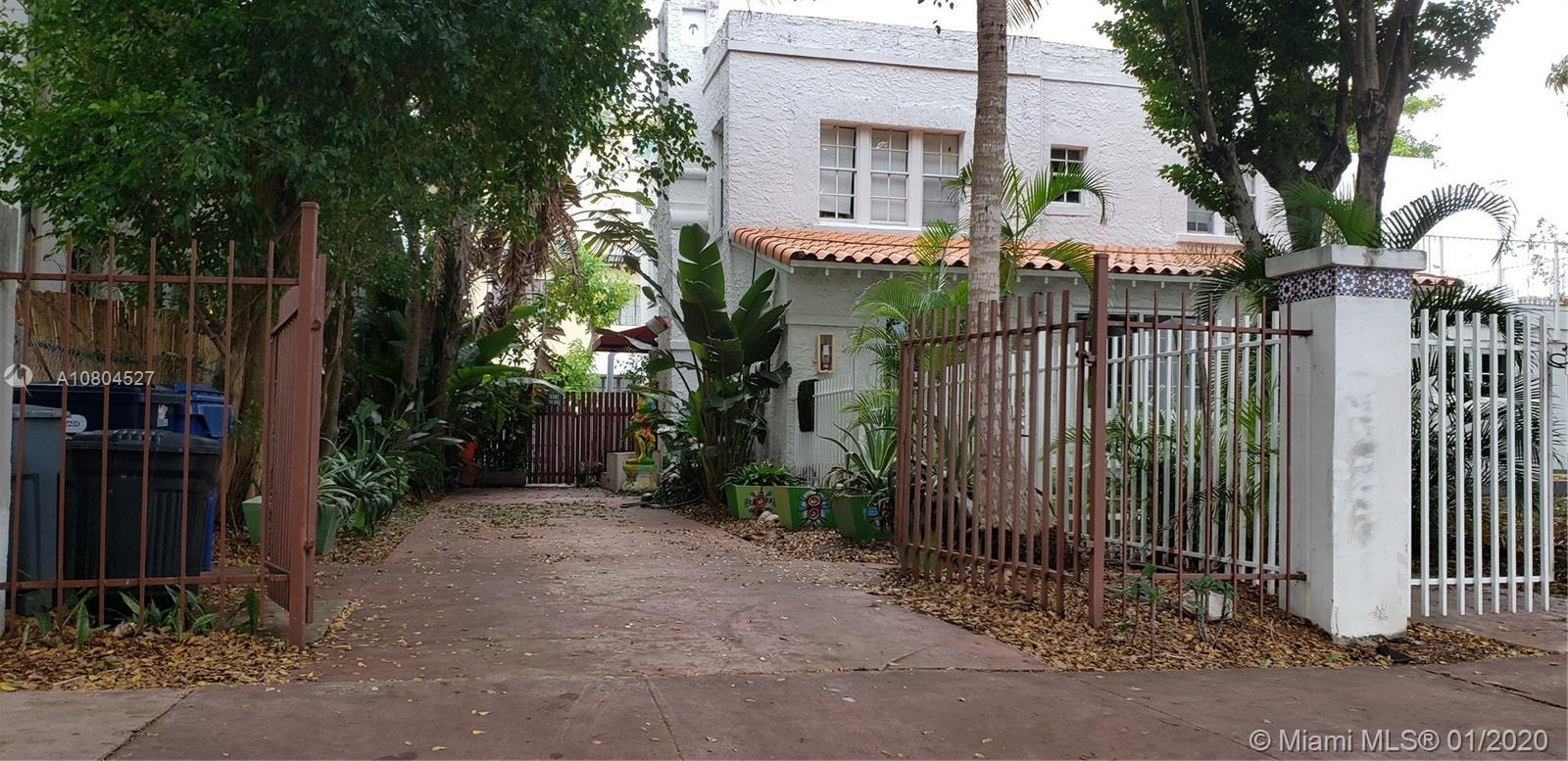 This beautiful Mediterranean 2nd floor home is located in the heart of Miami Beach, walking distance