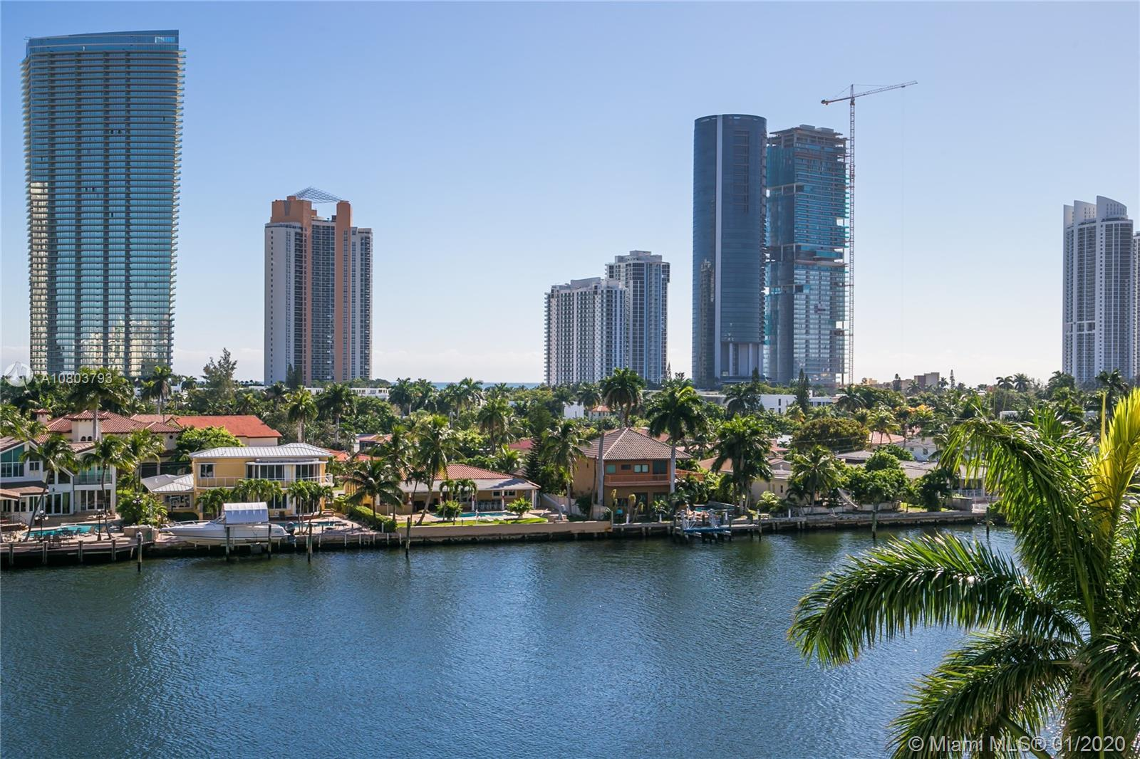 Breathtaking intracoastal and water views from this spacious condo located at the prestigious Mystic
