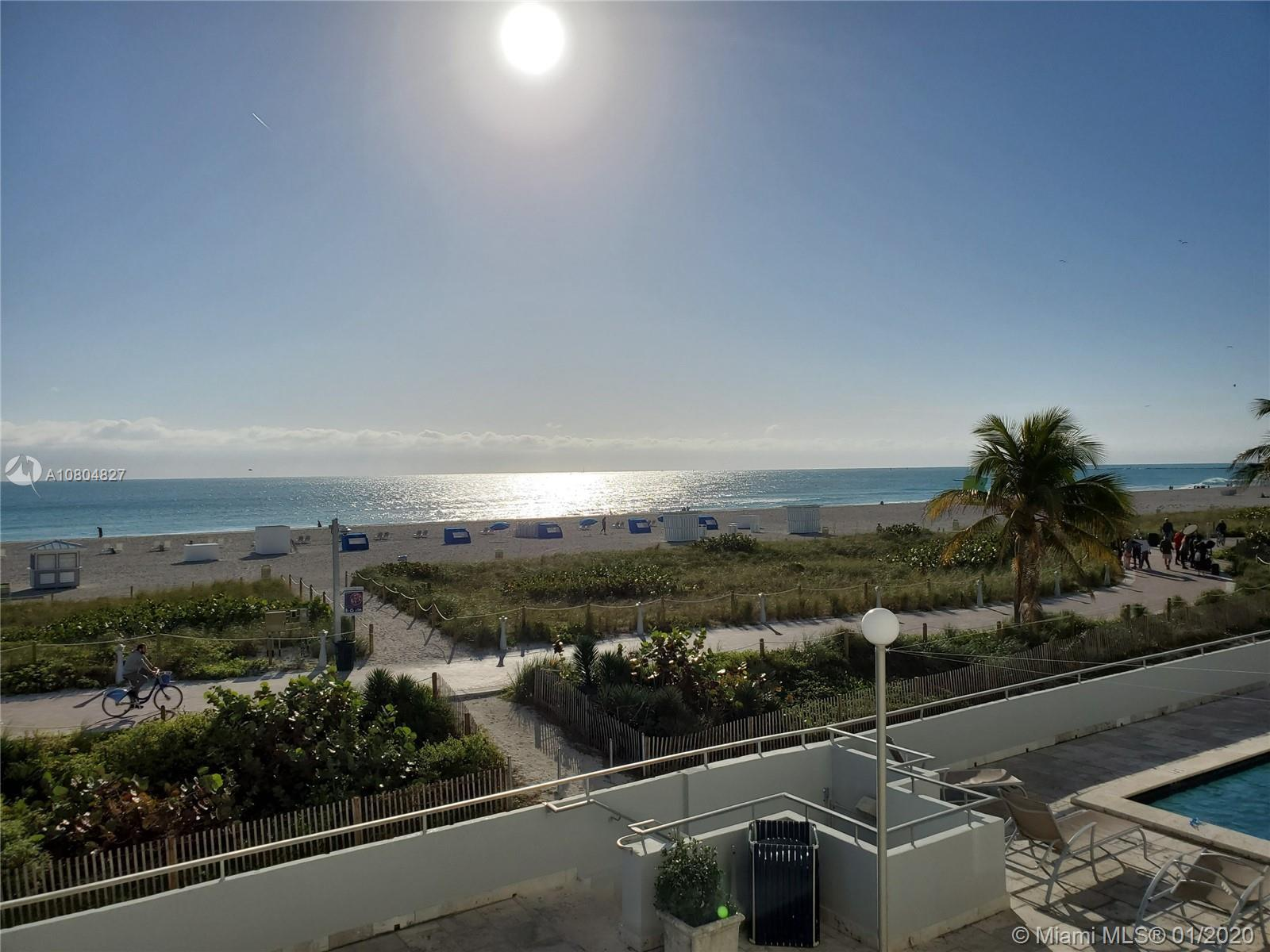 Spectacular  UNOBSTRUCTED DIRECT OCEAN VIEWS  and Lumnus Park view in coveted South of Fifth. Most d