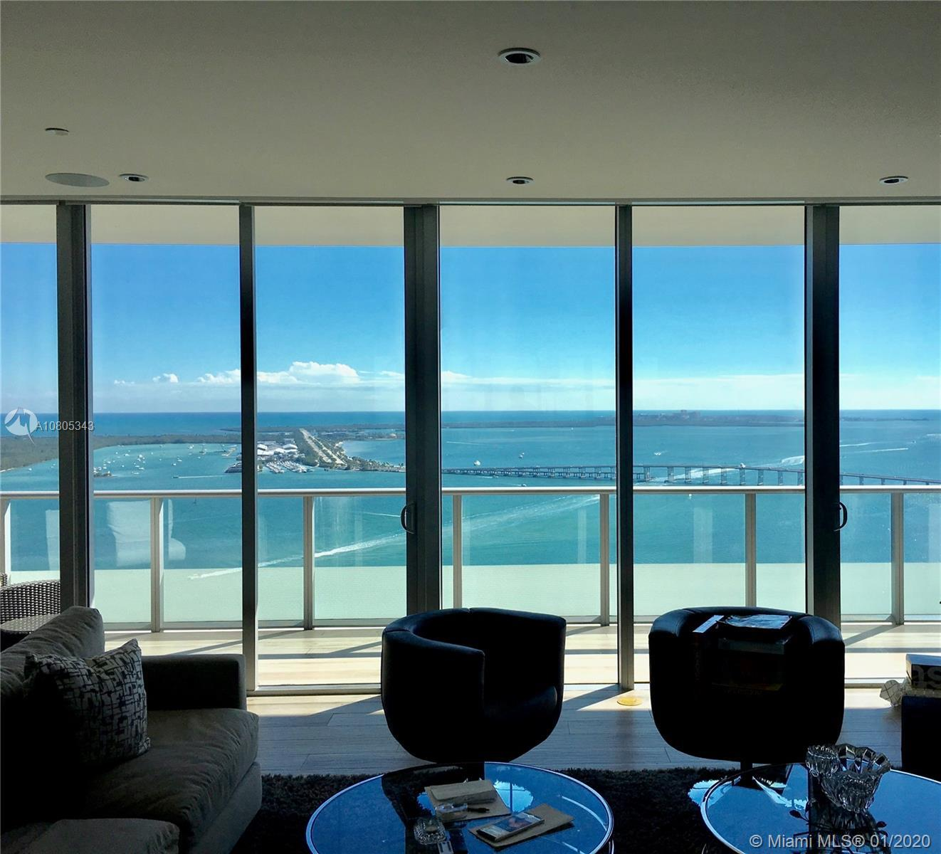 Sweeping Atlantic views from every room in this stunning 43rd Floor Penthouse. This fully furnished
