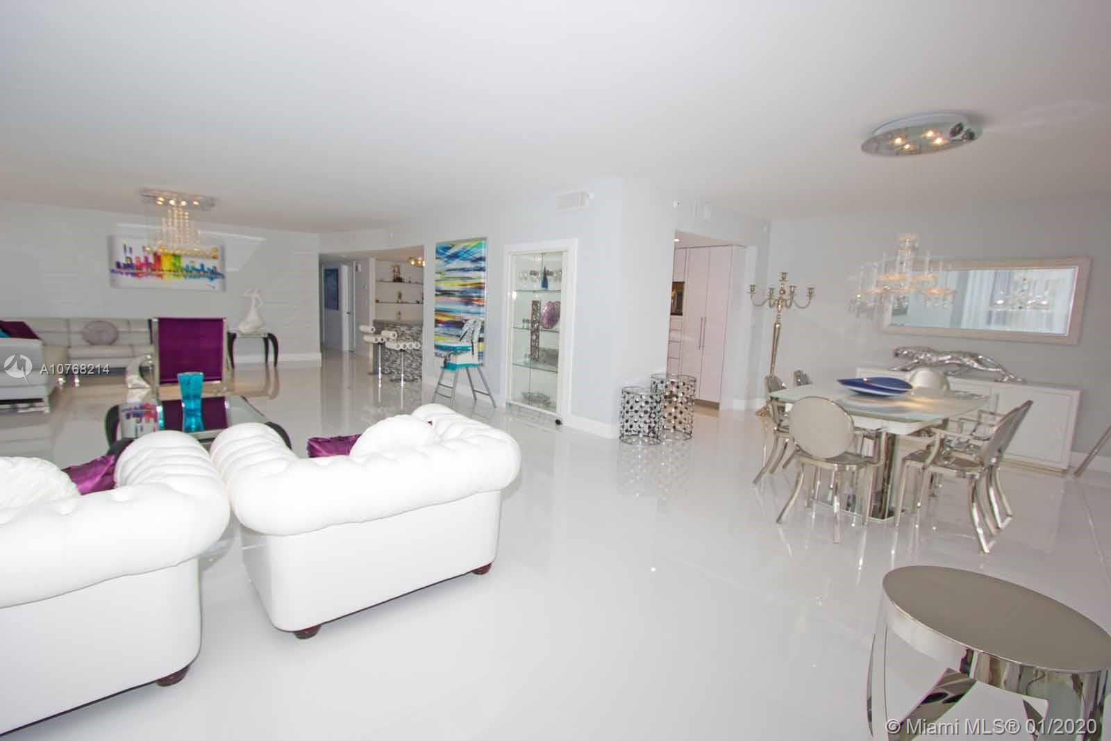 Best 3 bedroom deal in Bal Harbour! Enjoy direct ocean views from this fully furnished 3 Beds and 2.