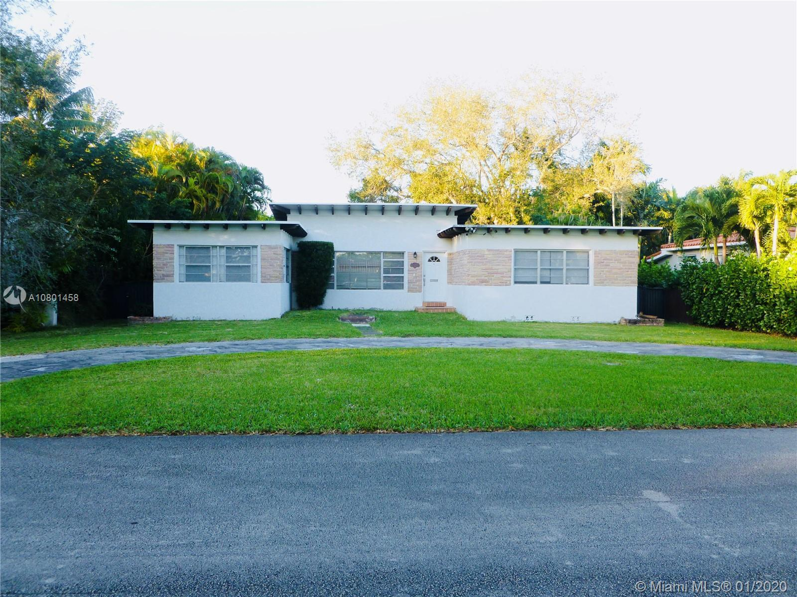 Warm and inviting Miami Shores home, East Of Biscayne Blvd and a block from the Bay. This 2 Bed / 2.