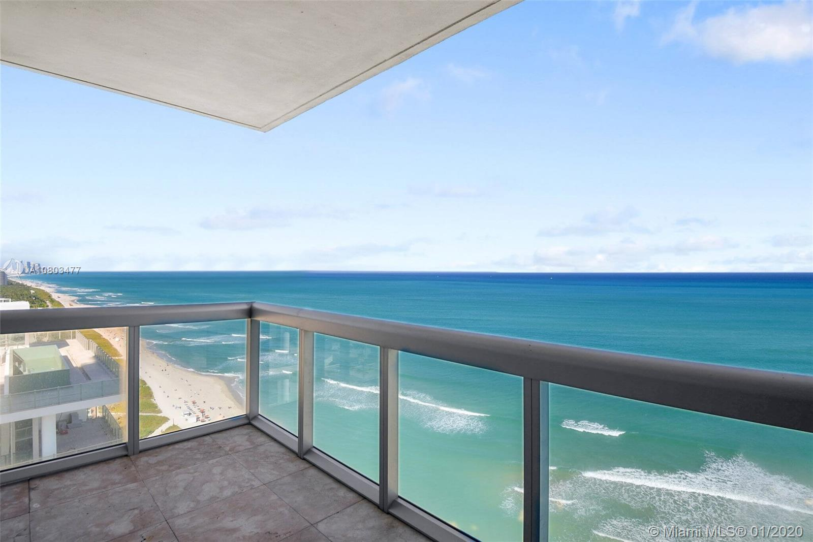 Luxury Living in this Ne Corner unit w/ocean views from all rooms! 2nd and 3rd bedroom also have bea