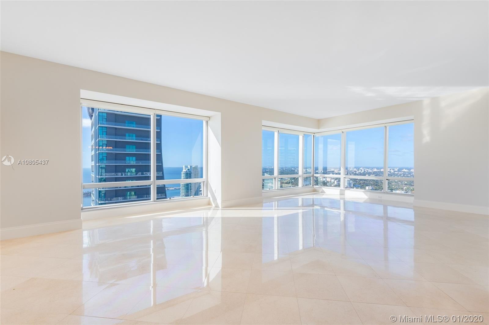 Tremendous Value at The Four Seasons Brickell. Soaring 51 floors into the Miami sky, this spacious 2