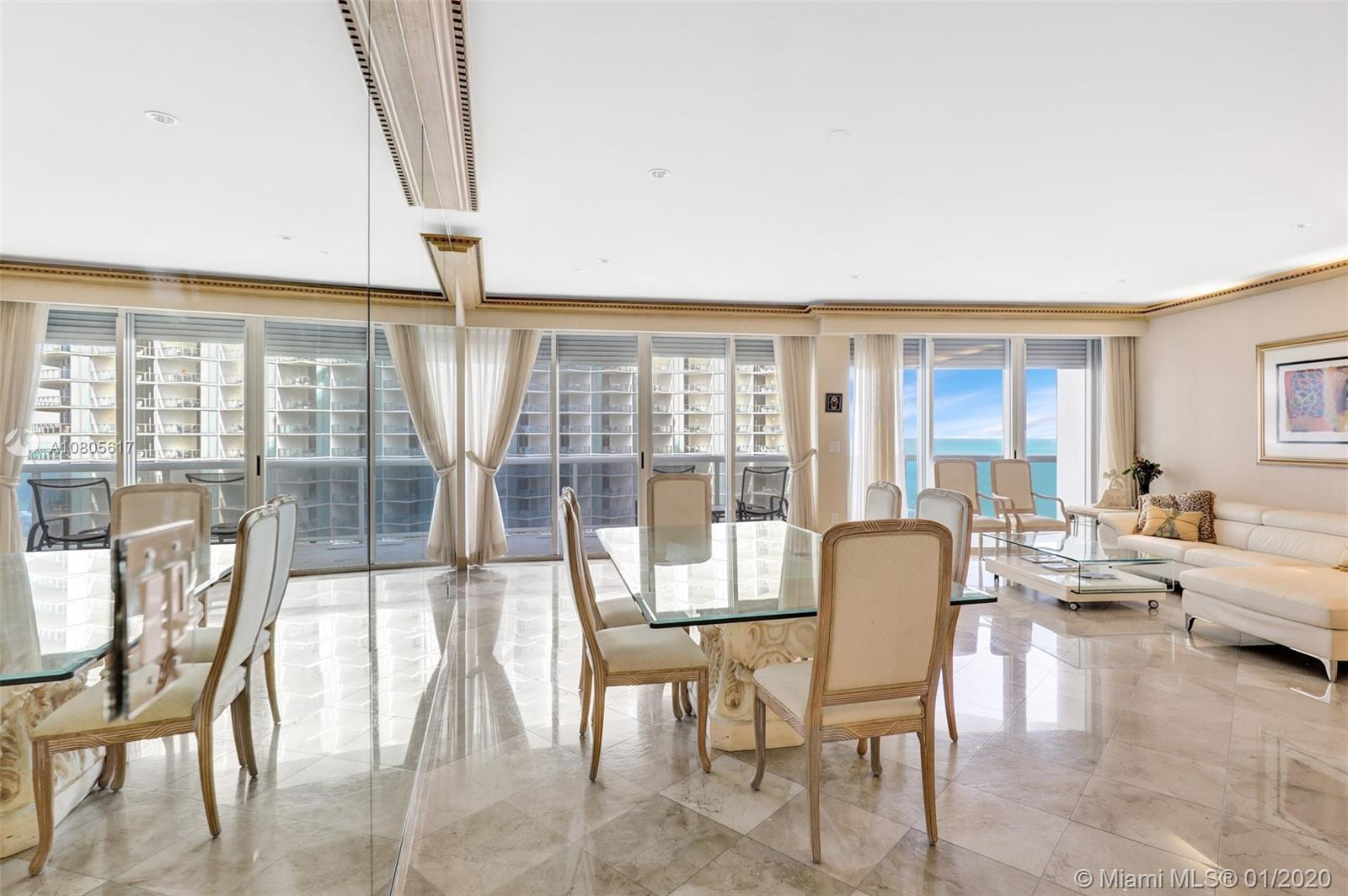 THE BEST VIEWS IN MIAMI WITH OCEAN AND INTRACOASTAL VIEWS. EXCELLENT FLOOR PLAN. OCEAN VIEW FROM EVE