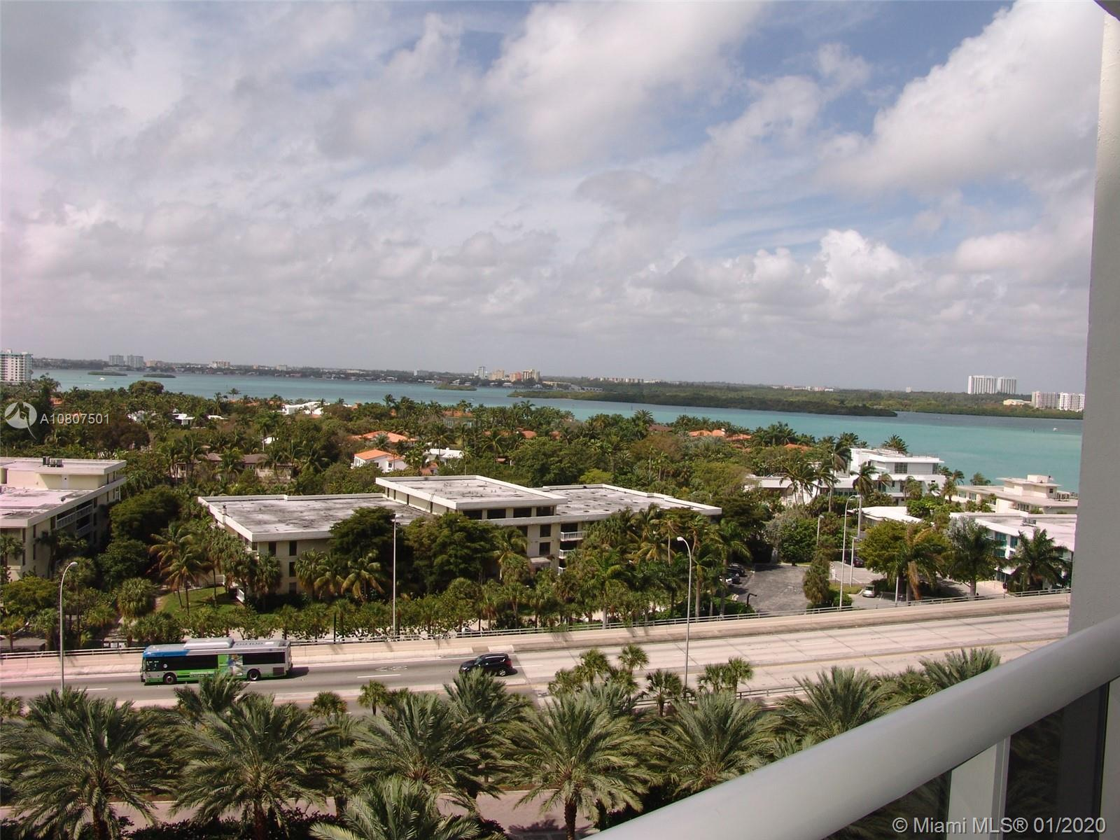 2 BED, 2 full BATHS unit on 11th floor with beautiful intracoastal view from extra deep balcony. Bal