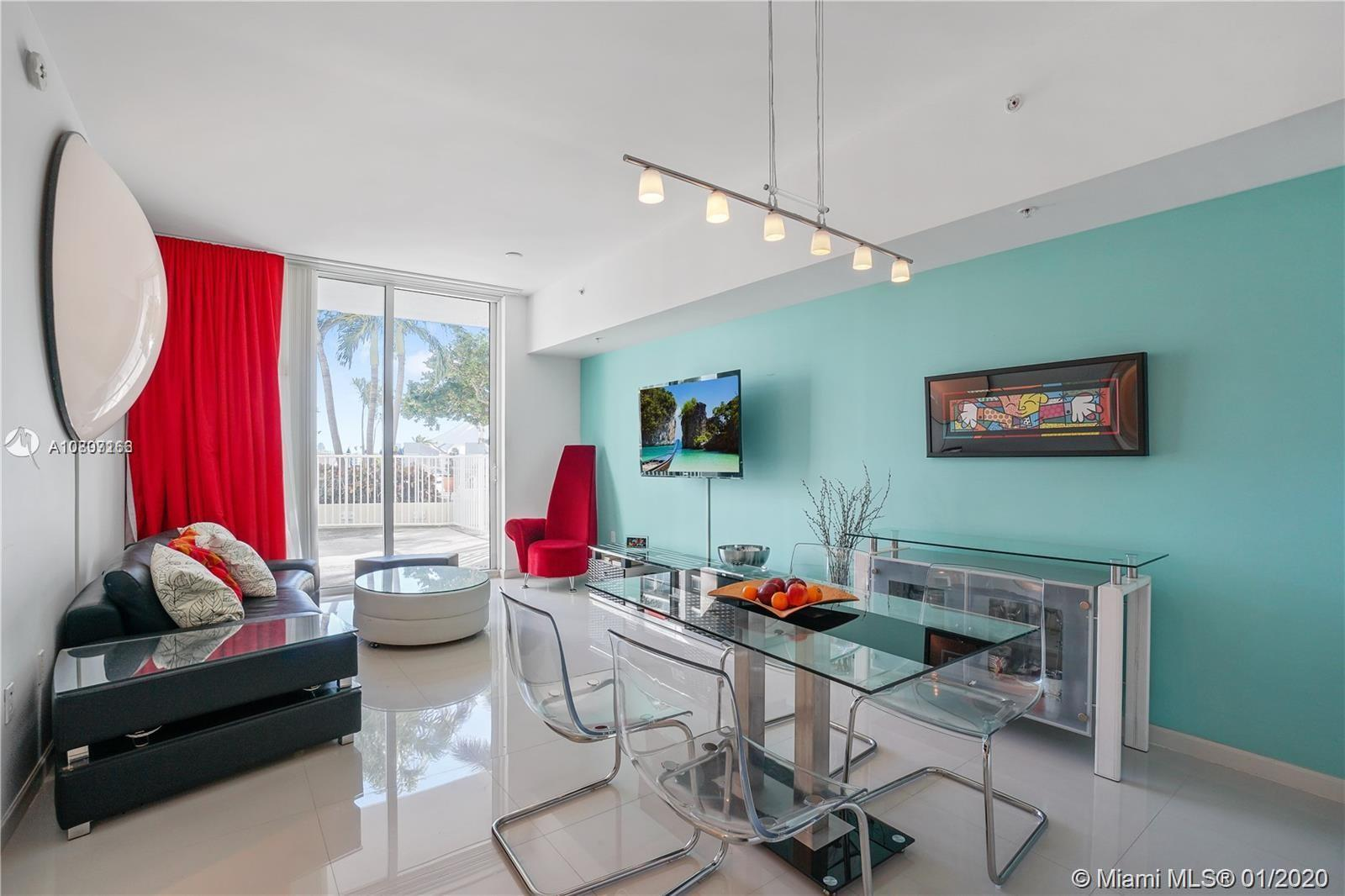 Gorgeous spacious apartment- Pool level with ample terrace, spacious 2/2 in resort style building. 4