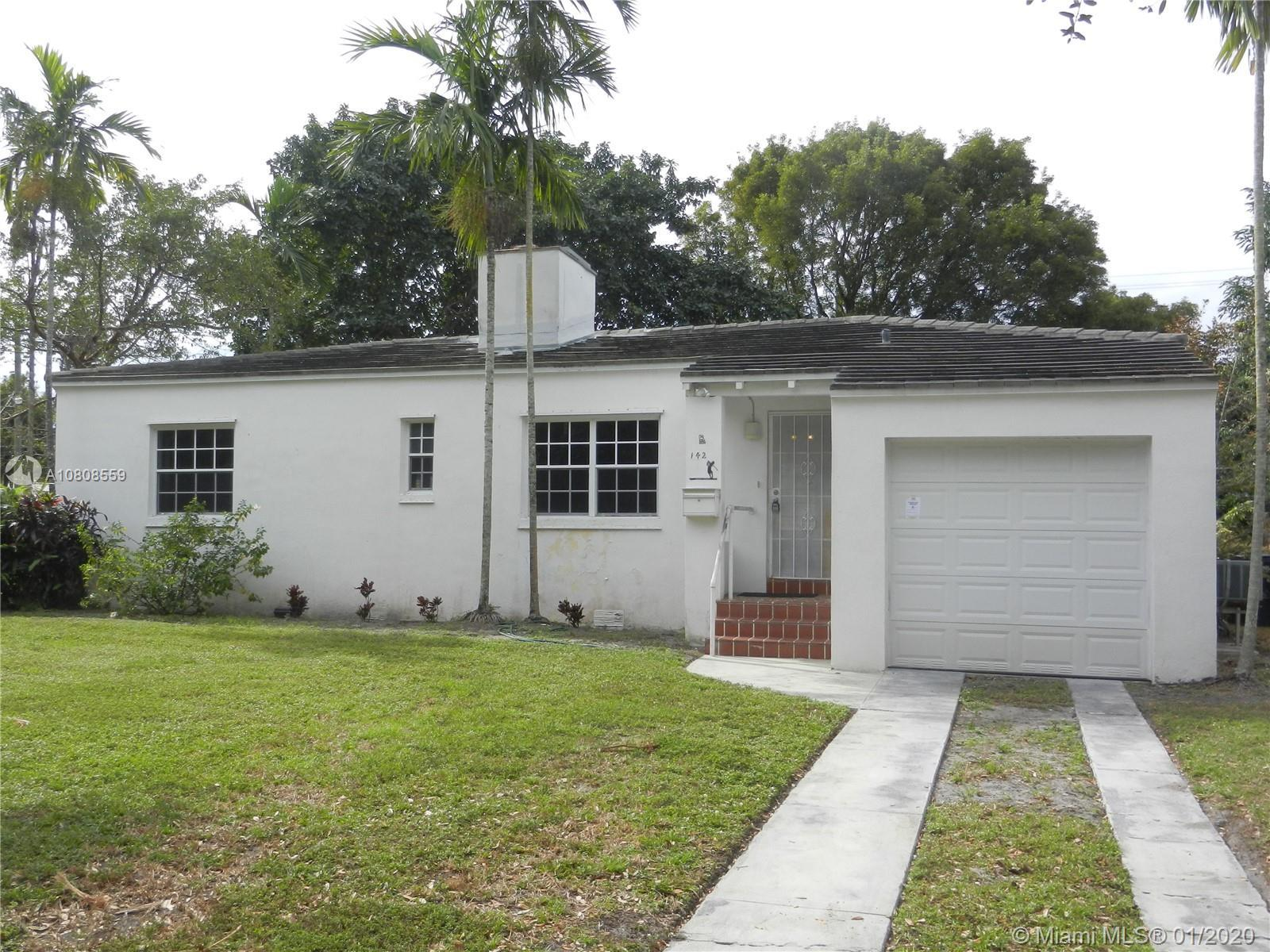 Custom built home for Springs' pioneer family! Three bedrooms, 2 baths, Deco fireplace, formal dinin