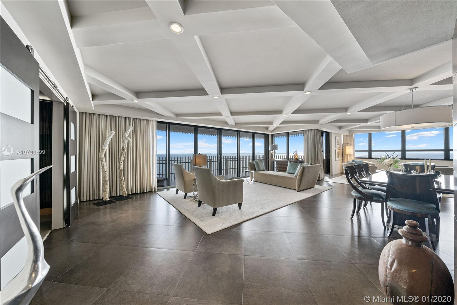 This Is 'The One'.   The Jewel Of Grove Isle.  Exquisite, luxurious, 16th floor corner residence,