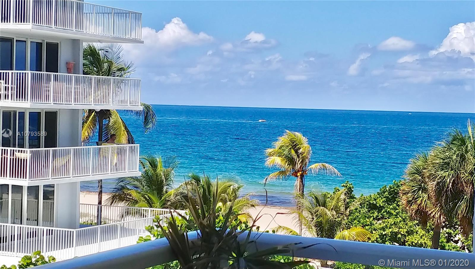 BEAUTIFULLY RENOVATED SPACIOUS 2/2 CONDO WITH OCEAN VIEW, A GLASS BALCONY, OCEAN SOUNDS, THE UNIT FE