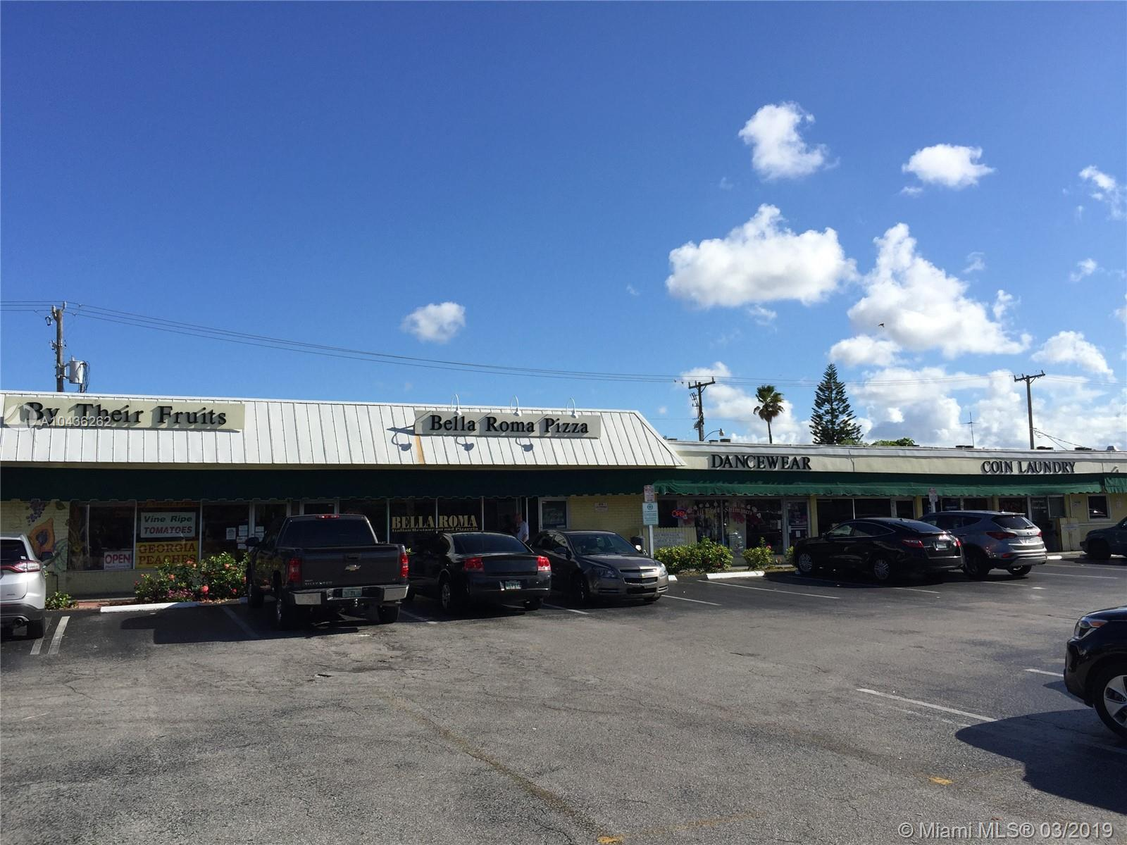 LOCATED RIGHT IN THE HEART OF POMPANO BEACH, AT LYONS PARK RESIDENTIAL AREA, A LARGE AND WELL ESTABL