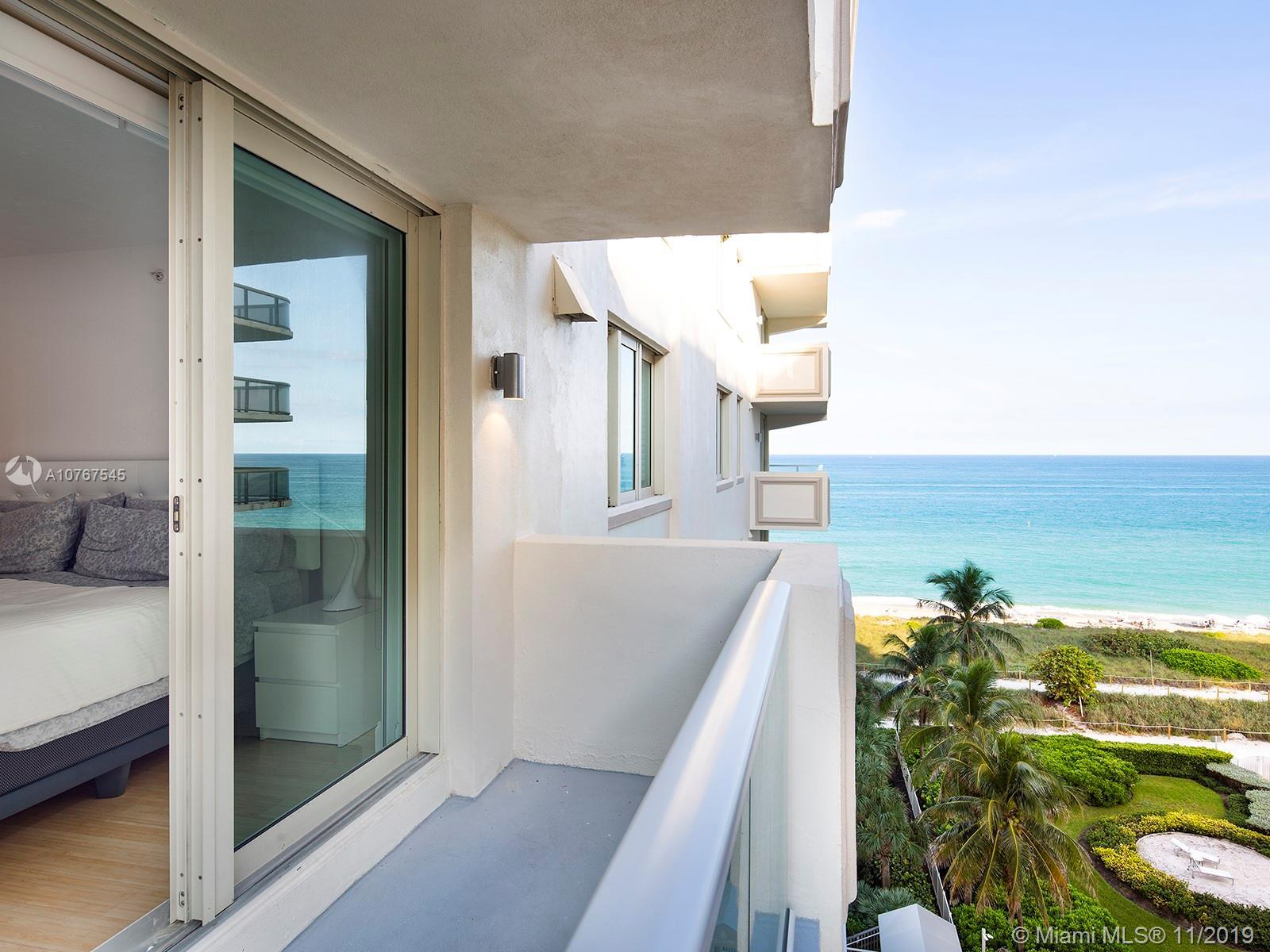 Prime location Oceanfront residence situated in the heart of Surfside and within one block from worl