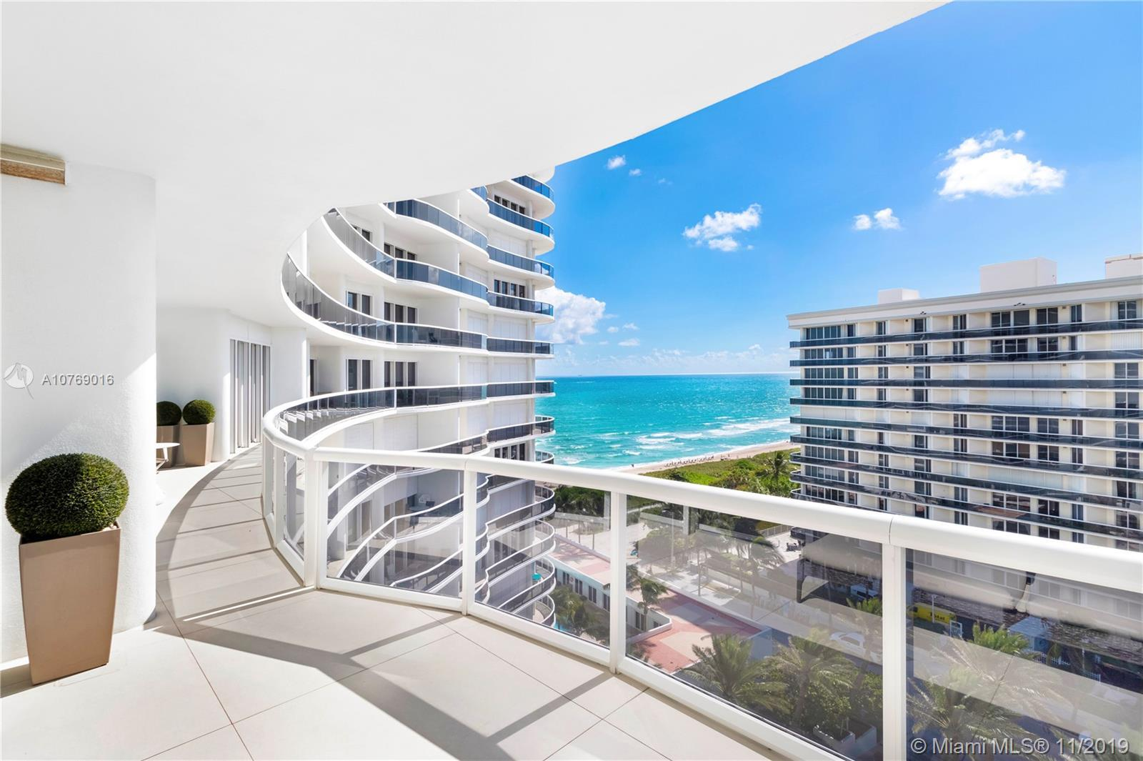 Stunning contemporary, entirely renovated, Art Lover and Designer styled Unit. Spectacular Ocean and