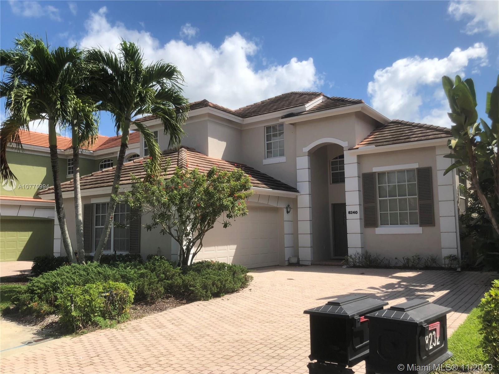 Great home is beautiful Ibis Golf Club. Home will need updating throughout. Great water views of lak