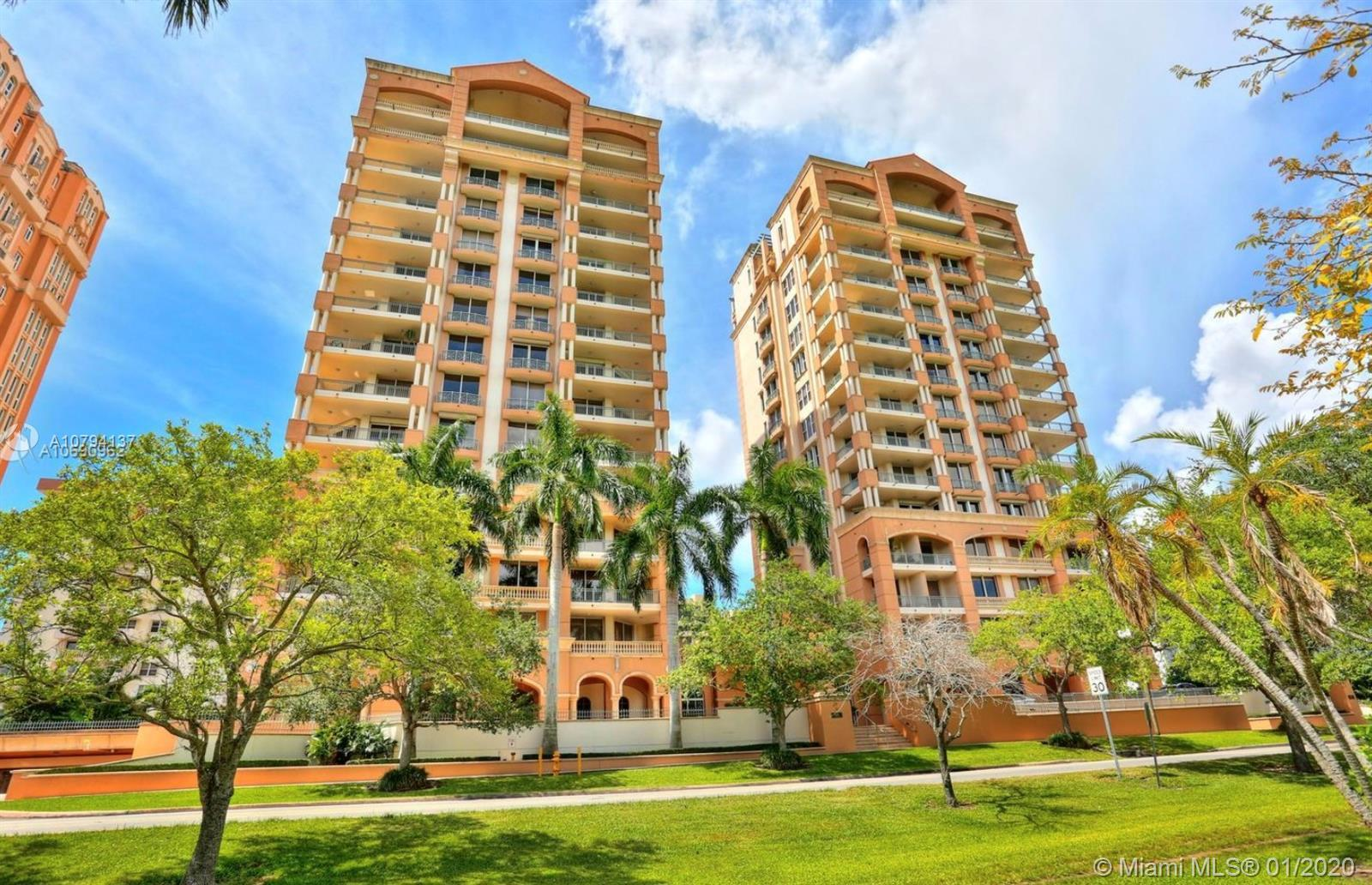 Best line, corner unit in the exclusive Gables on the Green Condominium with only 2 units per floor