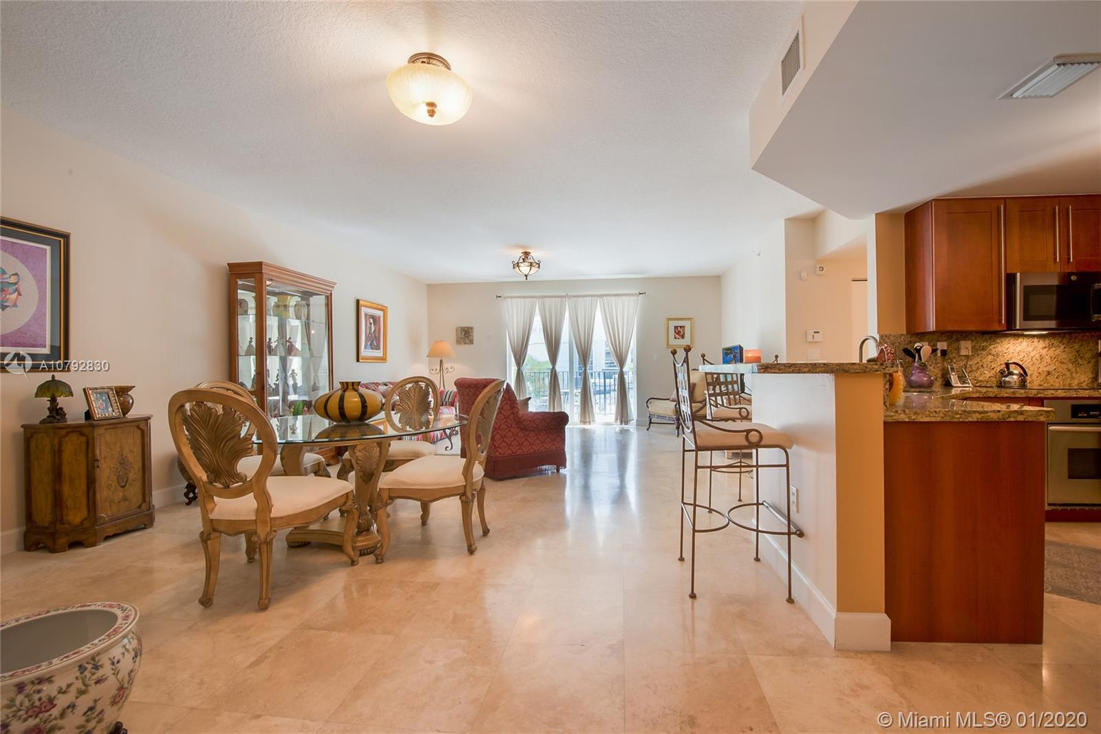 Luxurious & very spacious (1489 SF) 2/2 corner unit in a boutique building in the heart of Coral Gab