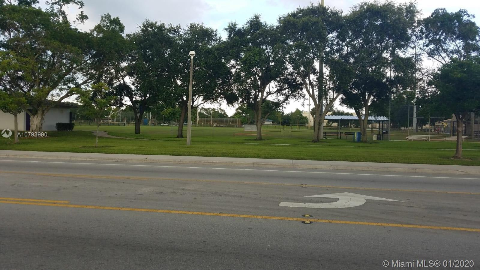 Vacant land 0.46 acres.  Across the street from Oswald park.  Commercial zoning B-2.