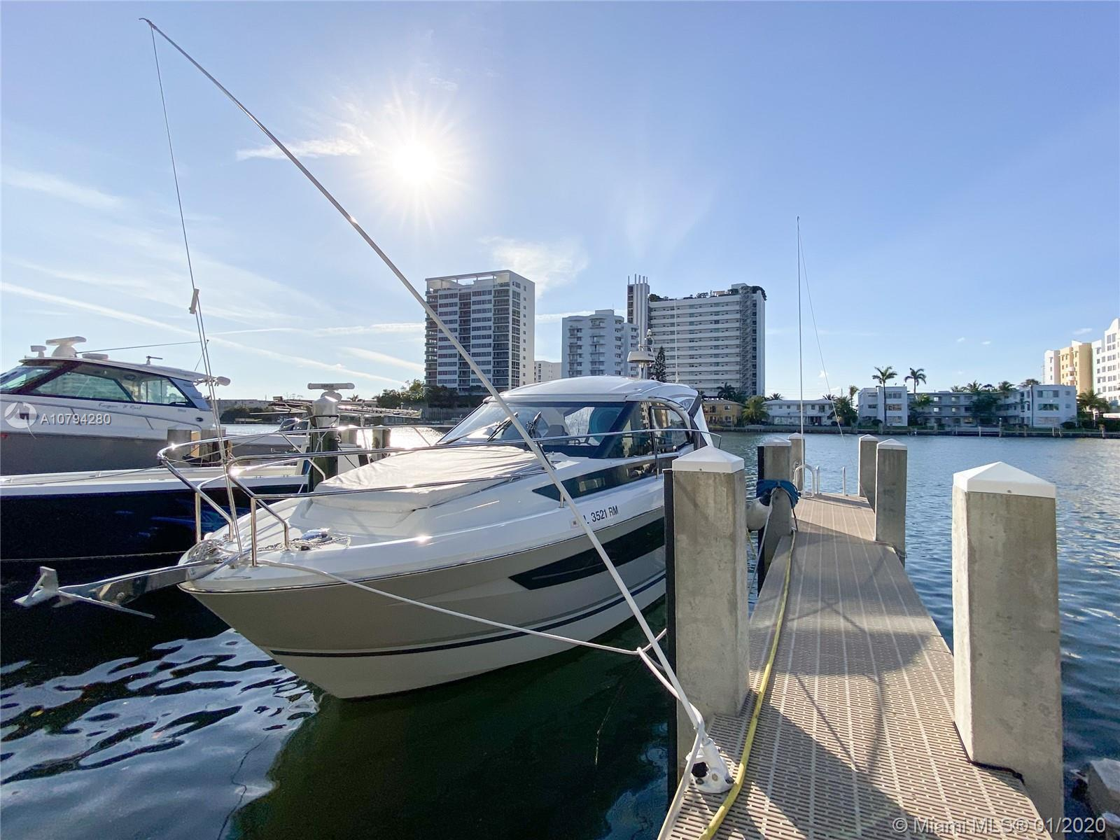 BOAT DOCK, 3 BEDROOM, 3 BATH, FULLY FURNISHED. Opportunity to Own your private Boat Dock in Miami an