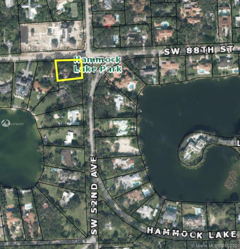 Prime development opportunity in coveted Hammock Lakes neighborhood.  Existing home is in disrepair
