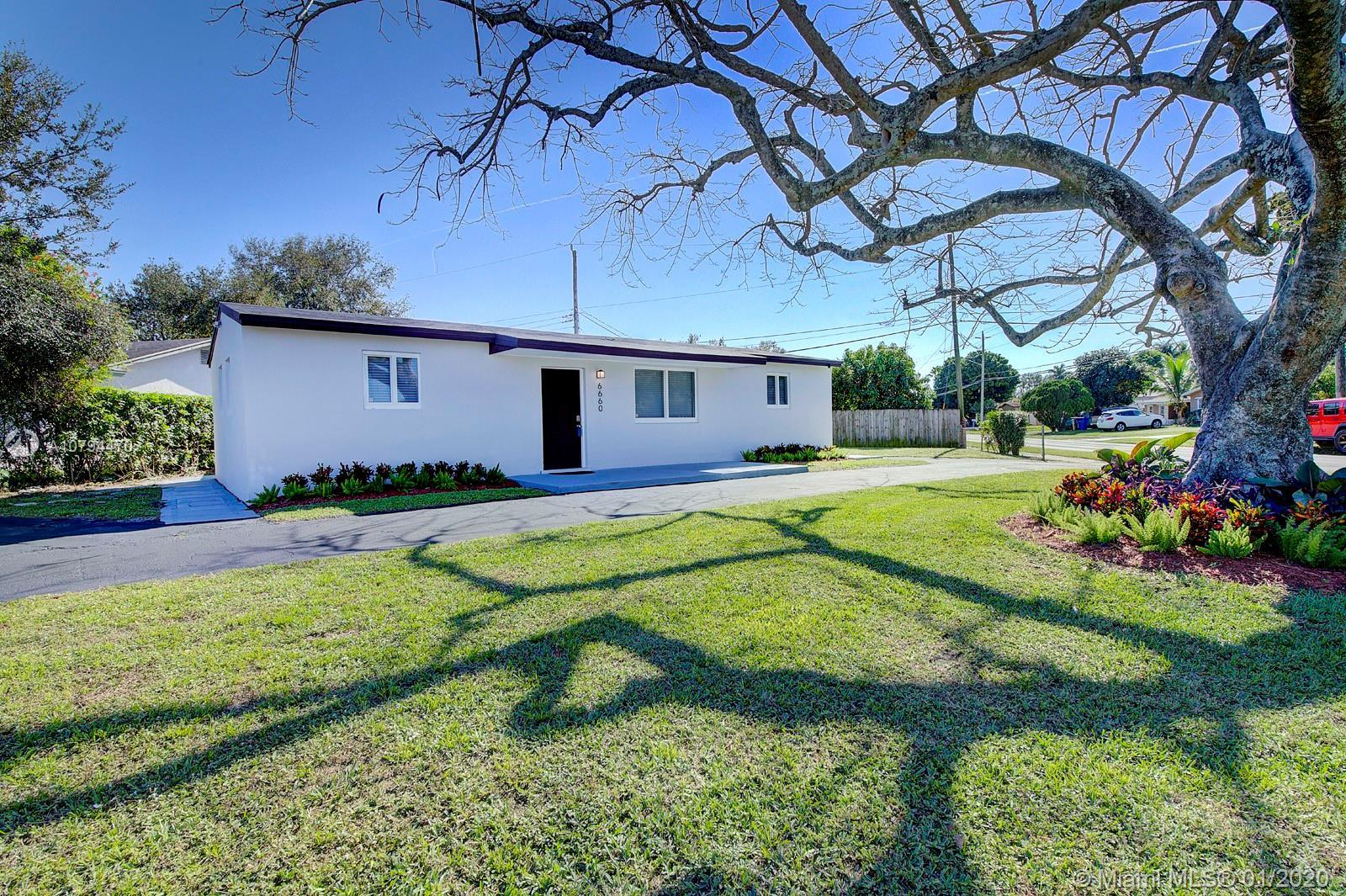 Come see this beautiful fully remodeled property, New roof, New impact windows, New Plumbing and pip