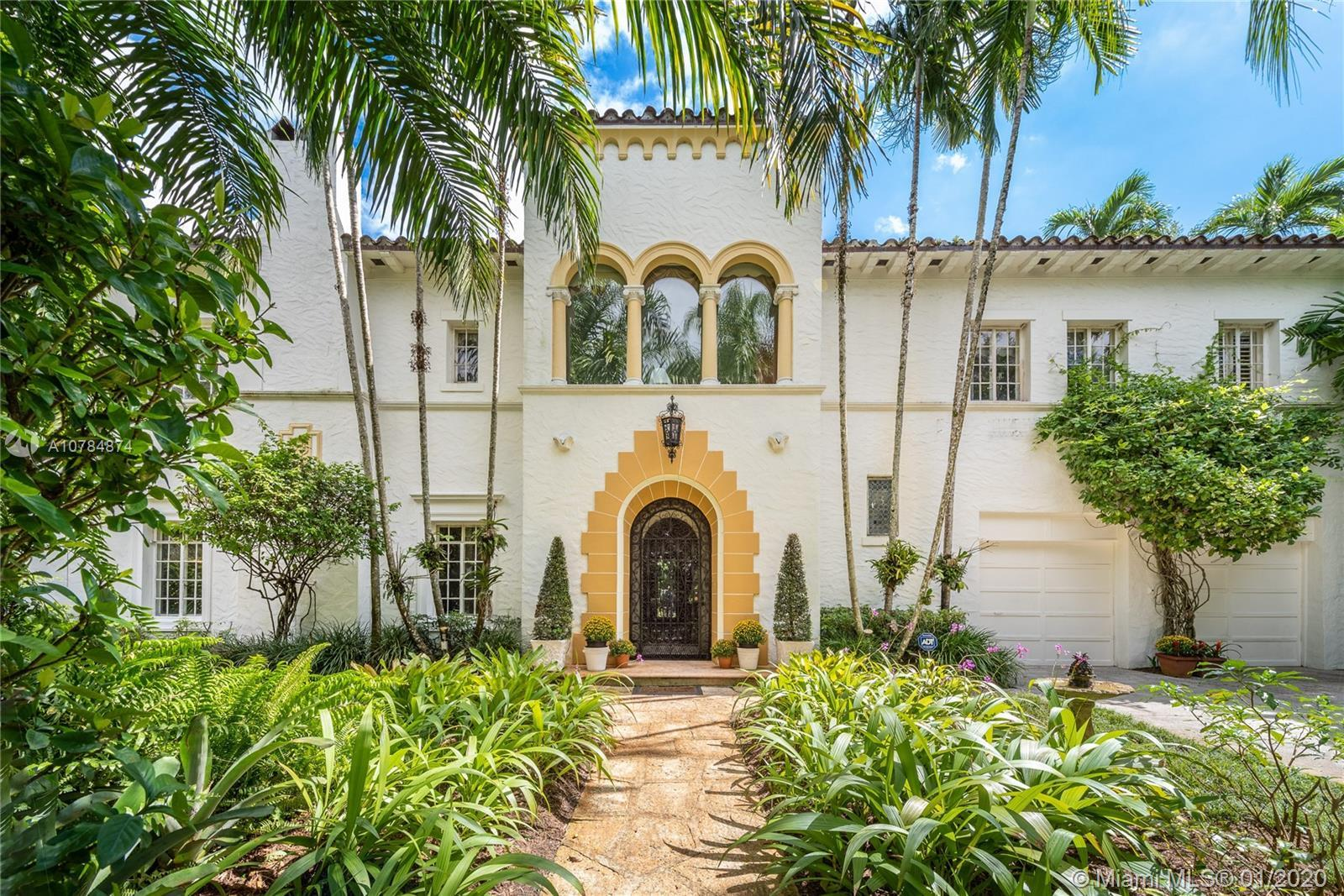 This classic 1926 Mediterranean villa is a crown jewel of Coral Gables. Nearly 5,000 adj. sq. ft. on