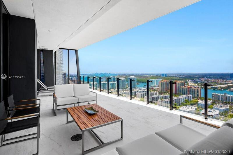 Live at the coveted 59 residence Muse in Sunny Isles Beach. This 2,360 SF smart home boasts private