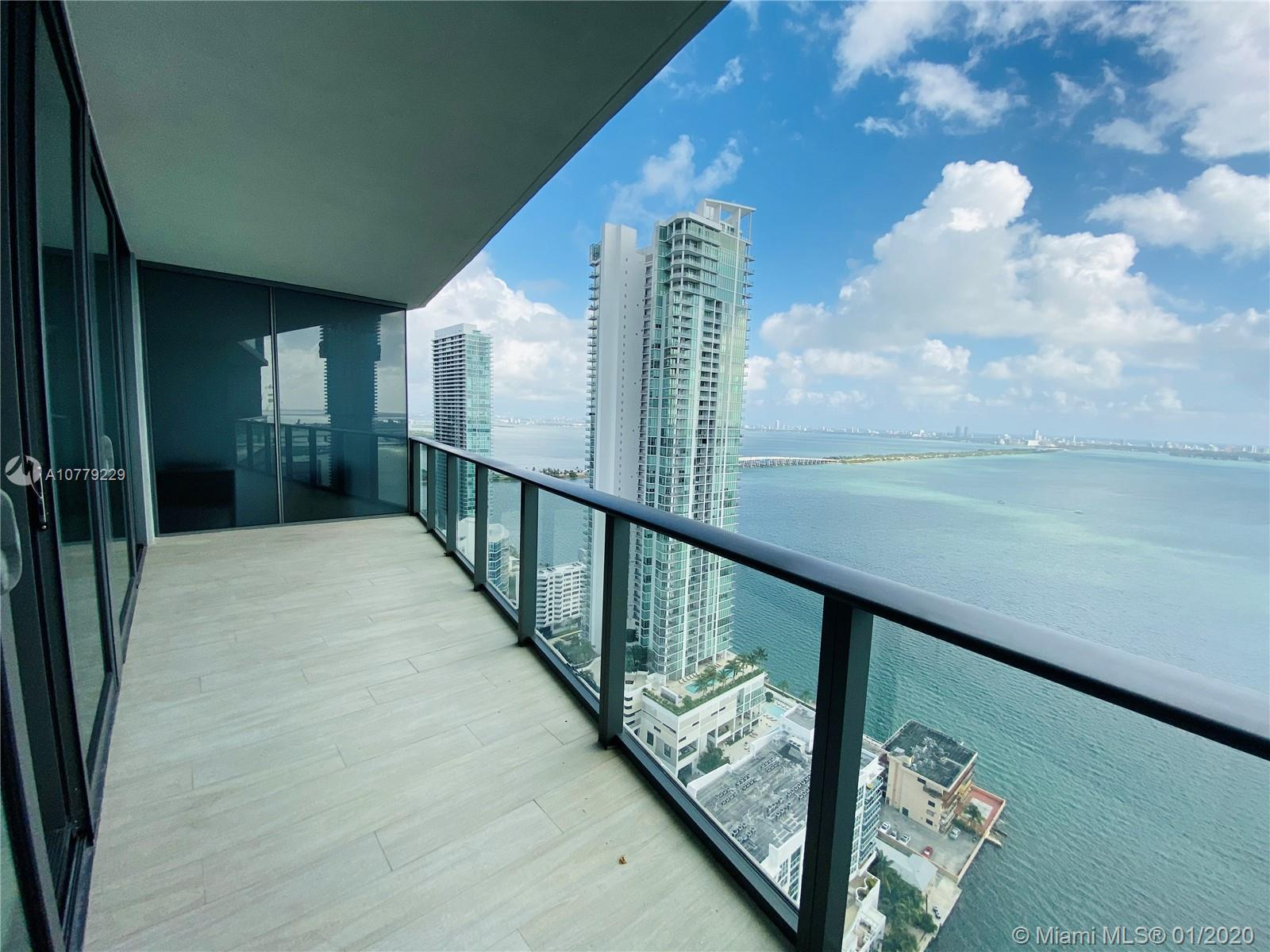 DESIGNER INSPIRED 2 BED AND 2 BATH RESIDENCE AT NEW ICON BAY WITH AMAZING DIRECT BAY VIEW. GREAT ATT