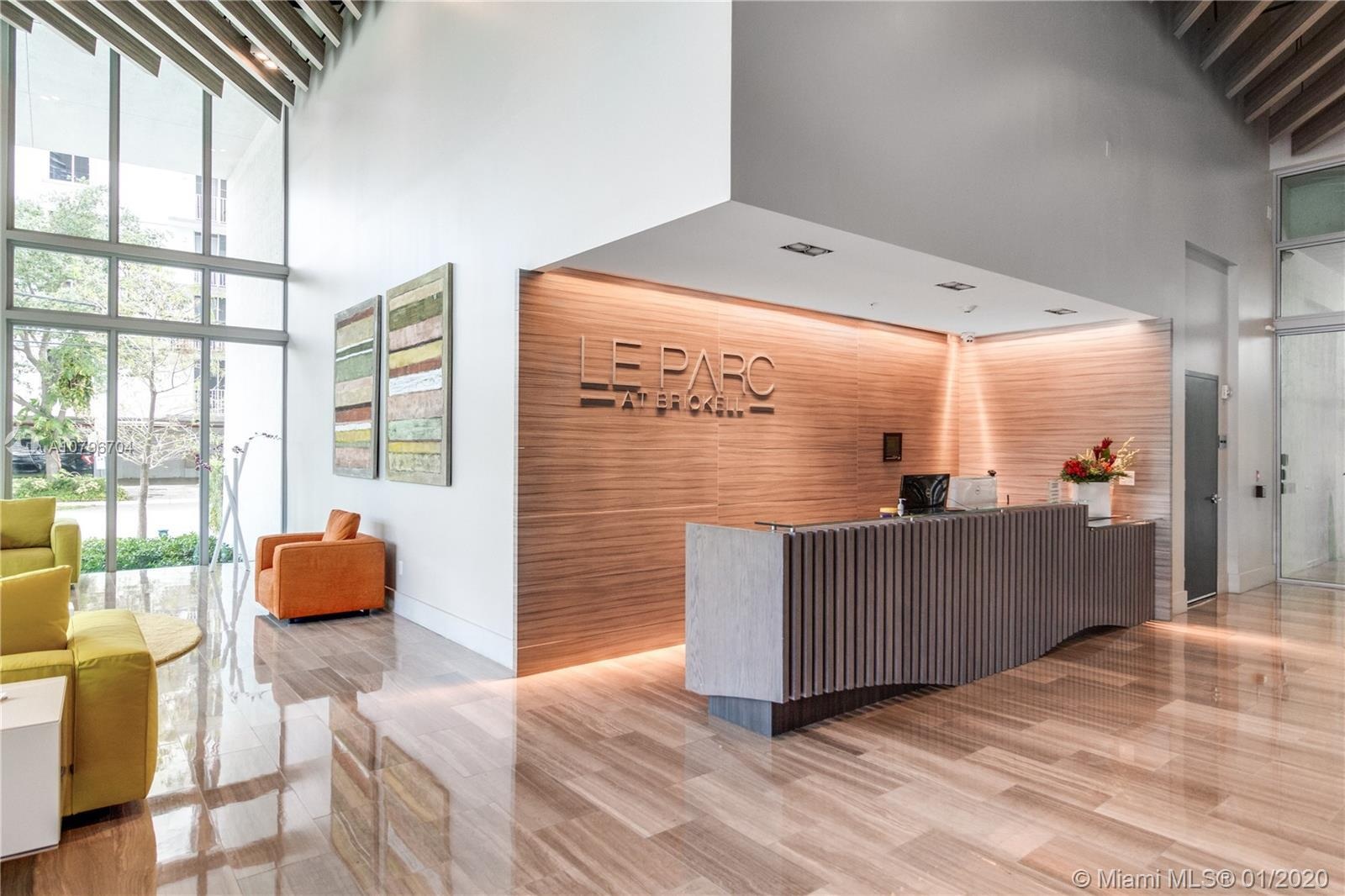 Luxury Boutique Building completely residential Located in the heart of Brickell in Miami has availa