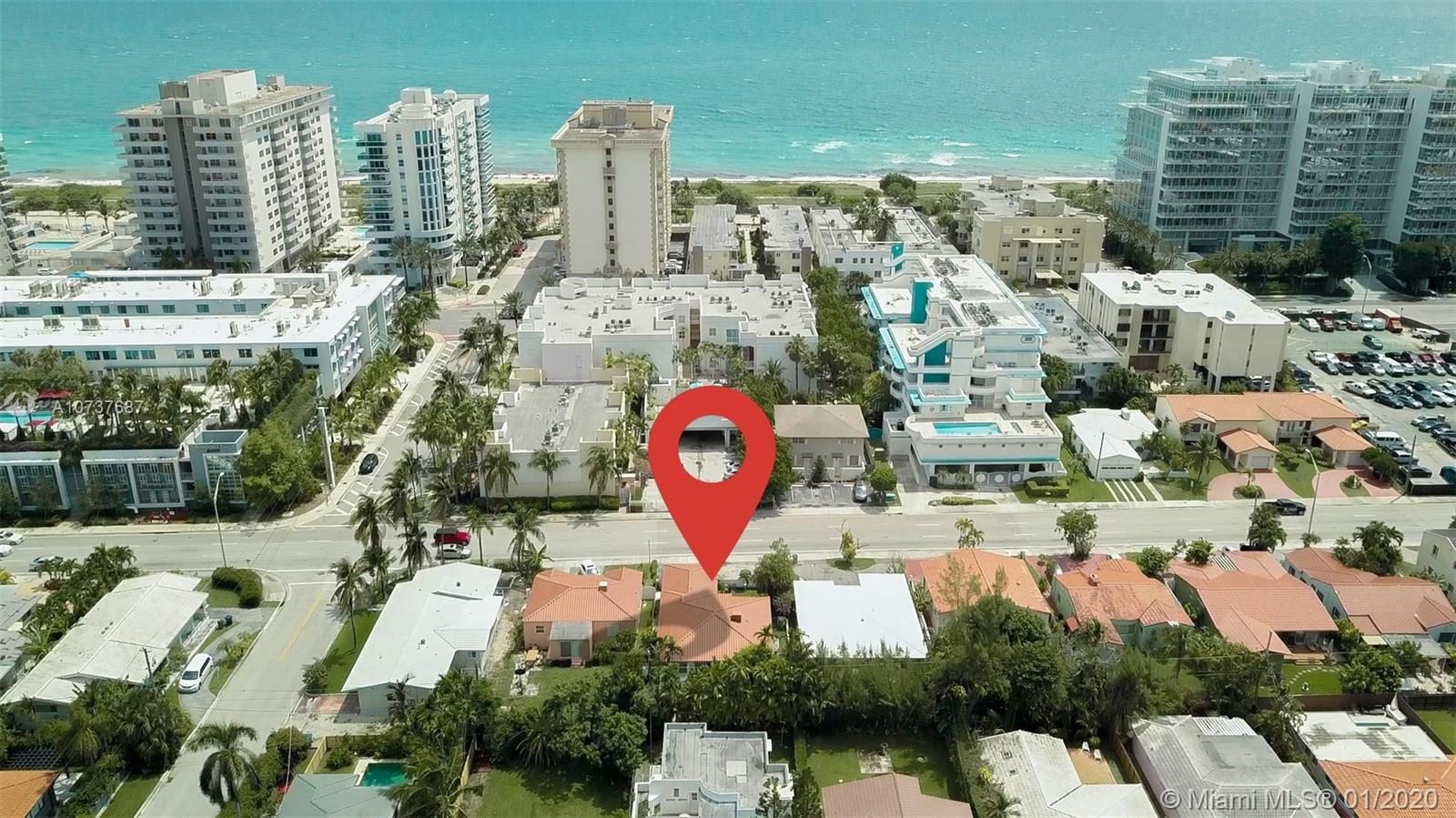 The best-priced !,  4 bedrooms, 4 Bathrooms Home across the beach in the town of Surfside. Each bedr