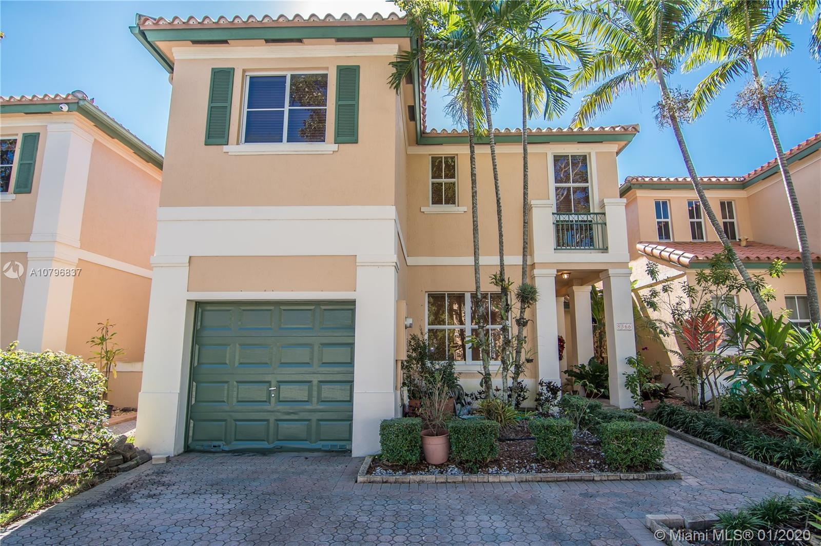 Spectacular home in one of the most prestigious gated communities in Miami Lakes. This beautiful pro