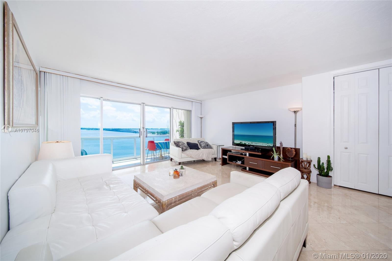 This stunning property of 1,288 sf with 2 Bedrooms & 2 Bathrooms overlooking an endless view of Bisc