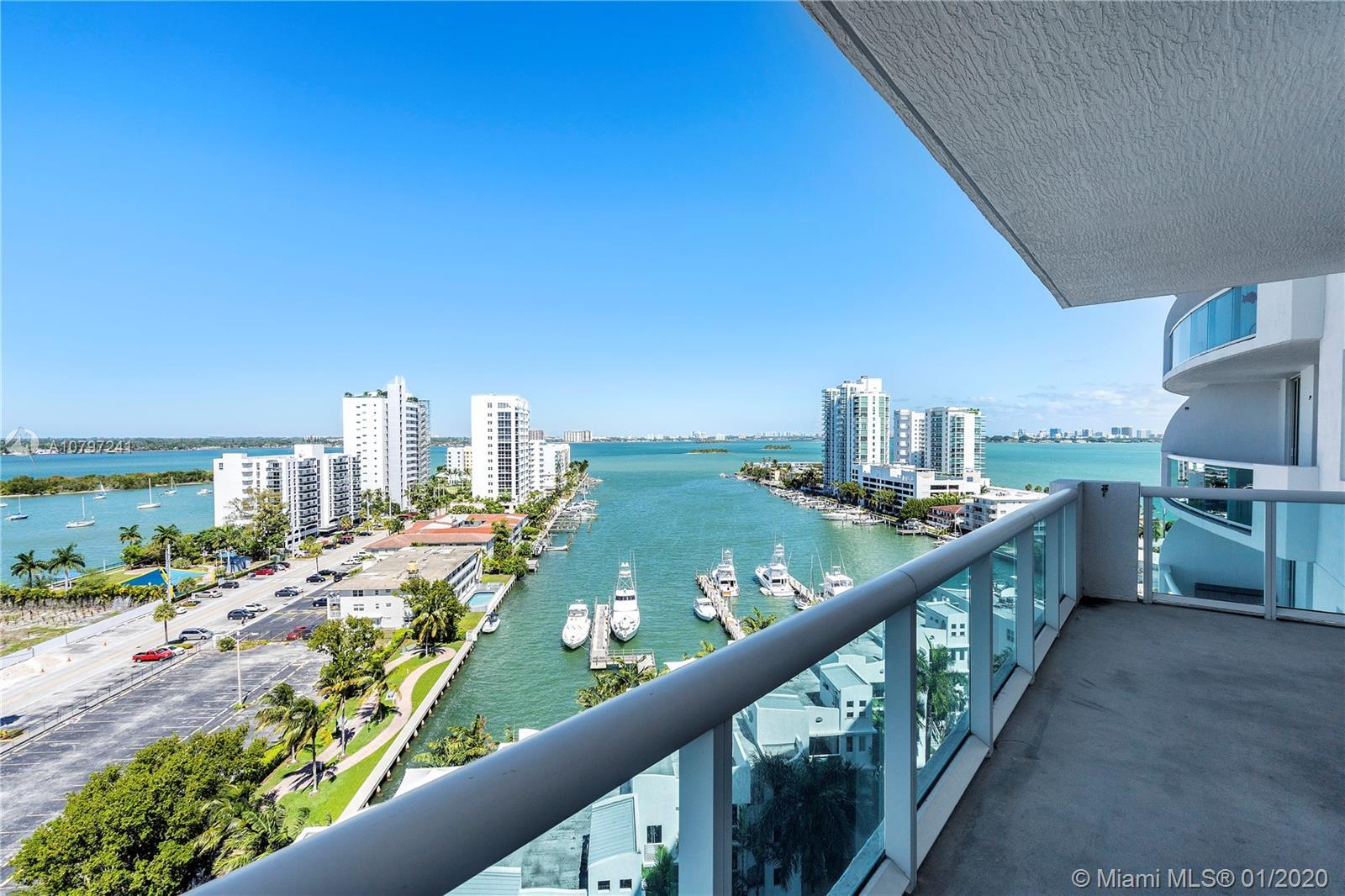 Enjoy amazing water and Bay view from every room in this Gorgeus 2 Bedrooms 2 Bathroom unit. Unit of