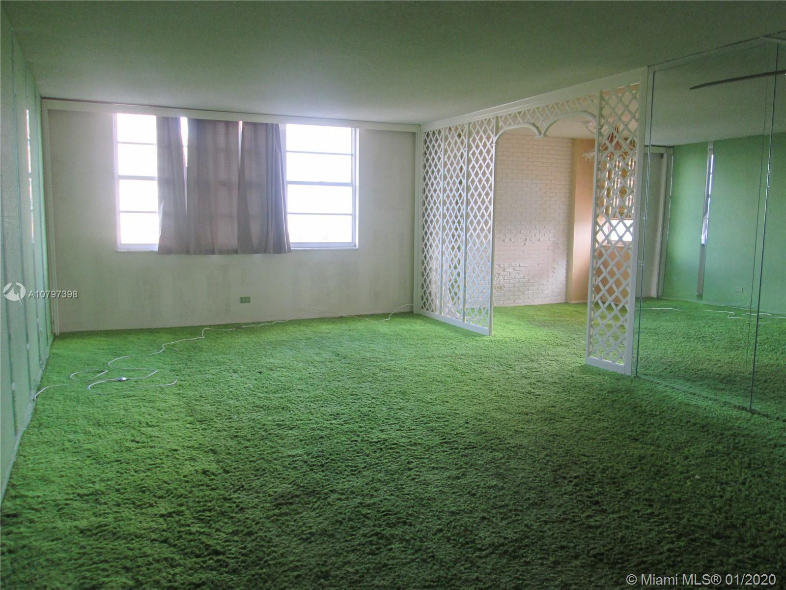 Very negotiable. Great space for the money and best location in Sunny Isles Beach. Decorated the way