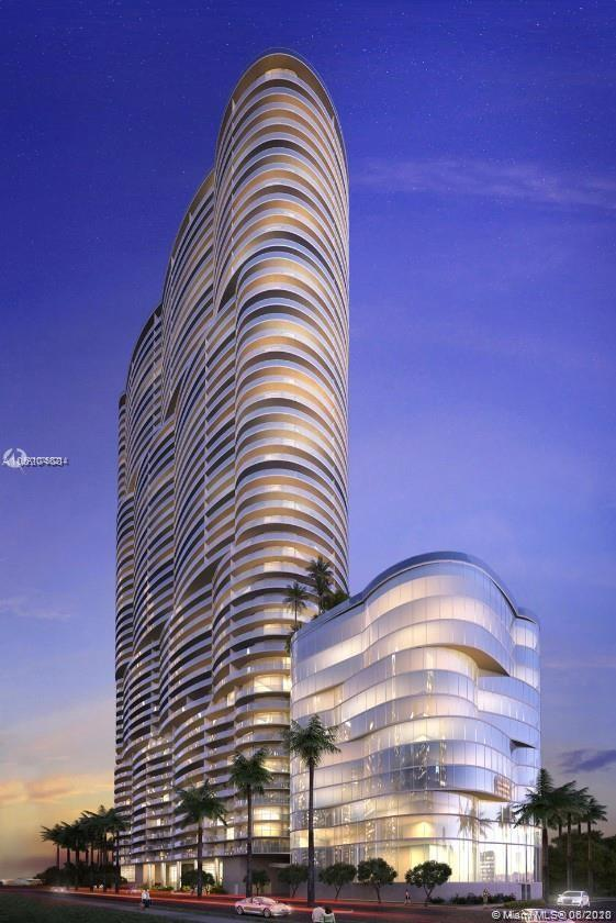 Spectacular View to the bay, 1 Bed + Den / 2 Full Bath with big balcony. New Luxurious Building. Hig