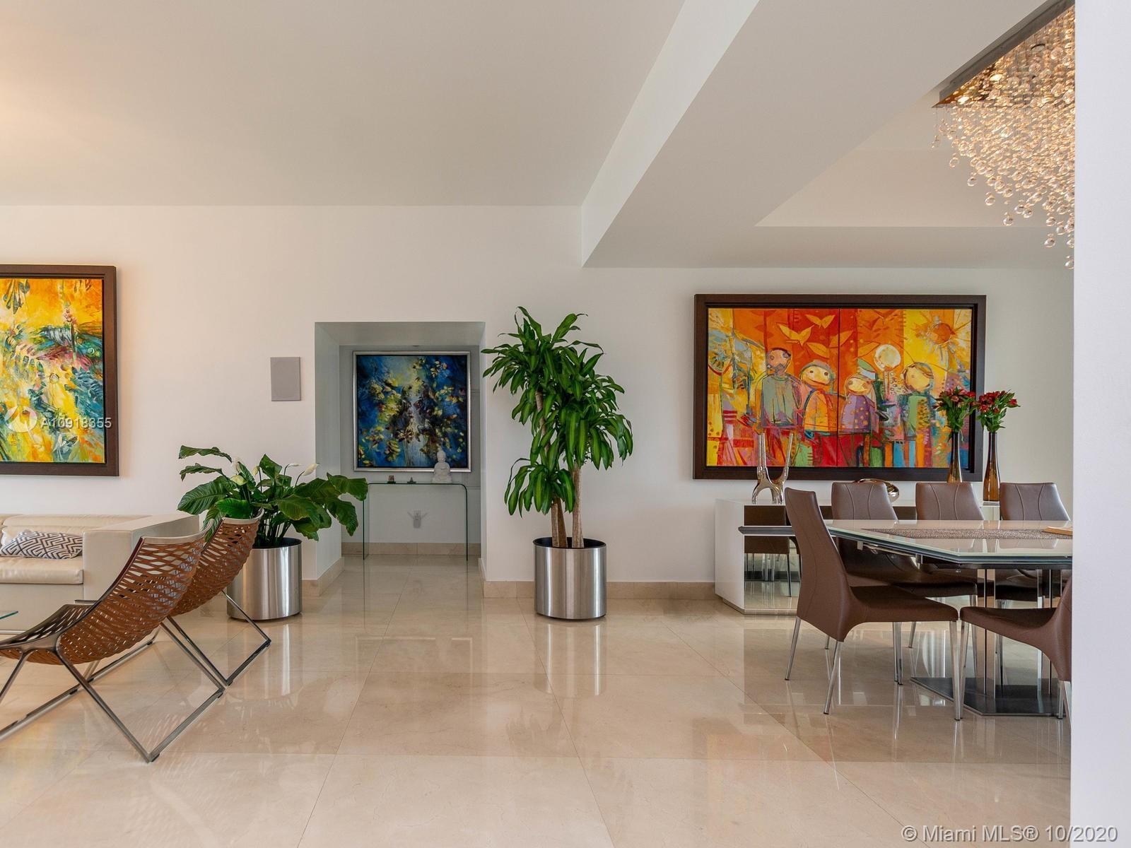 Spectacular 3 bed/ 3.5 baths with DIRECT OCEAN and INTRACOASTAL VIEWS residence at prestigious Trump