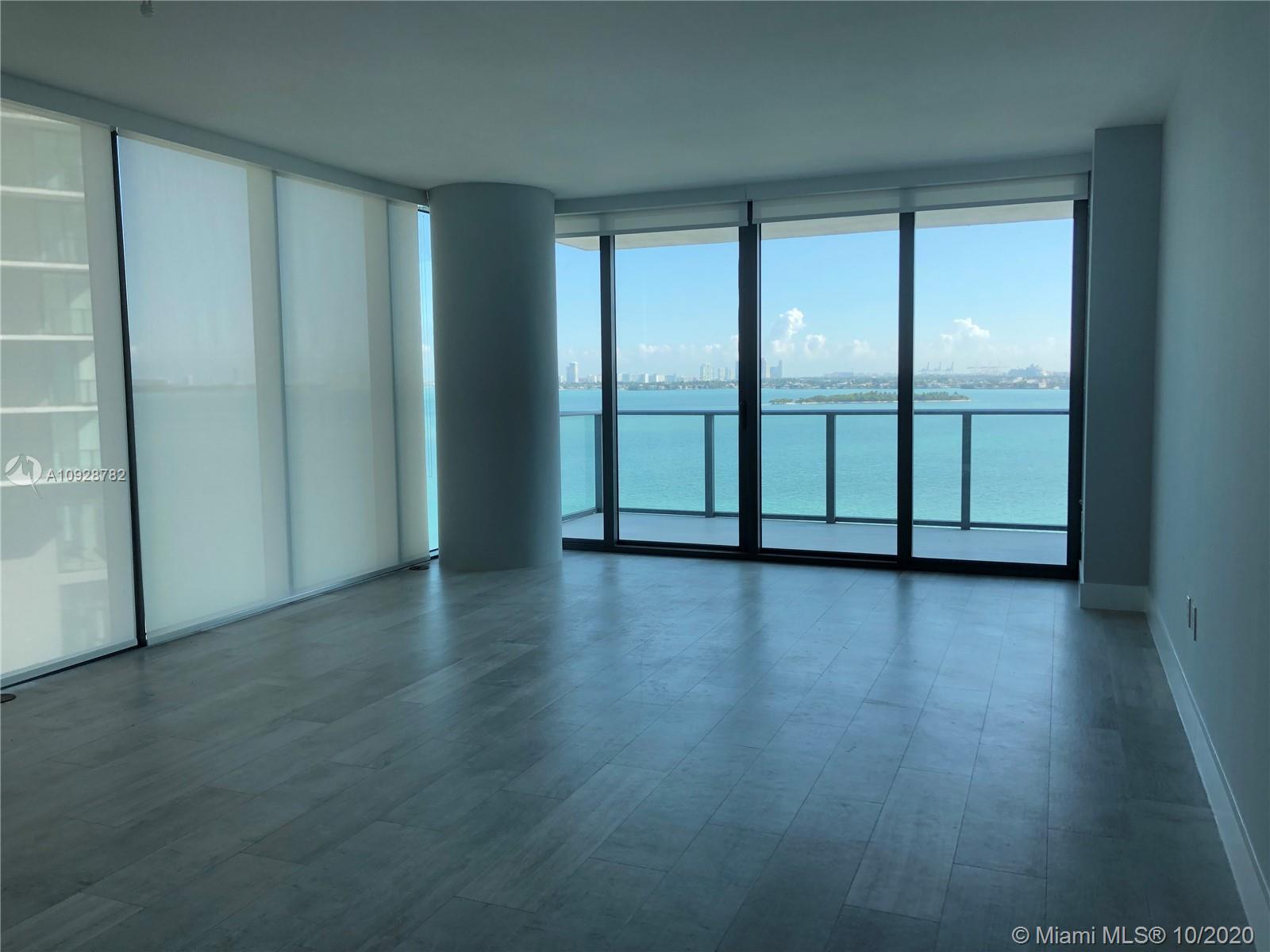 One bedroom, 1 Den, 2 bathroom unit at Paraiso Bay. Stunning bay views from 11th floor unit. Upgrade