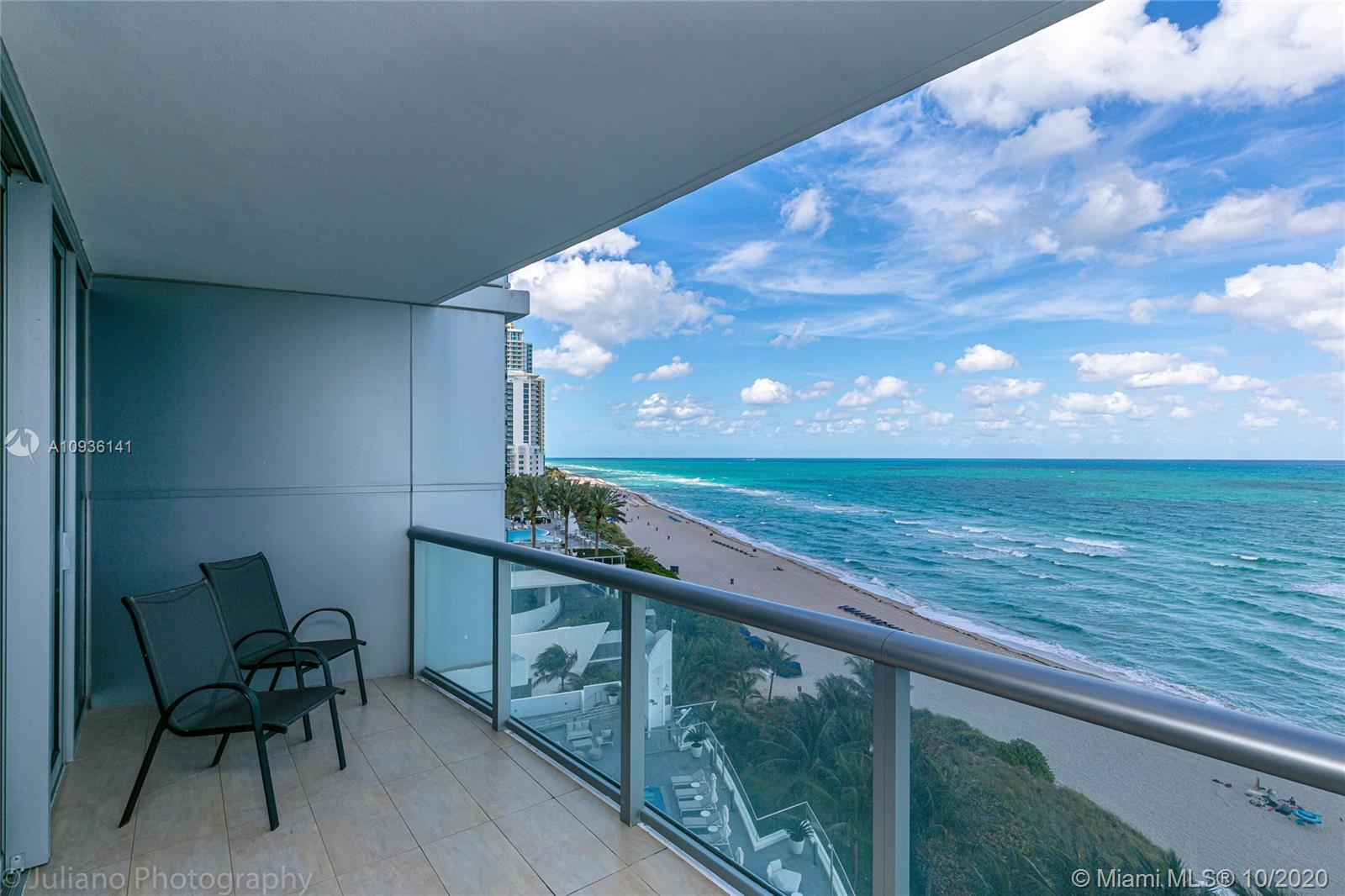AMAZING DIRECT OCEAN VIEW. BEAUTIFUL APARTMENT ONE BED 1.5 BATHS CUSTOM FINISHED. TWO COVERED PARKIN