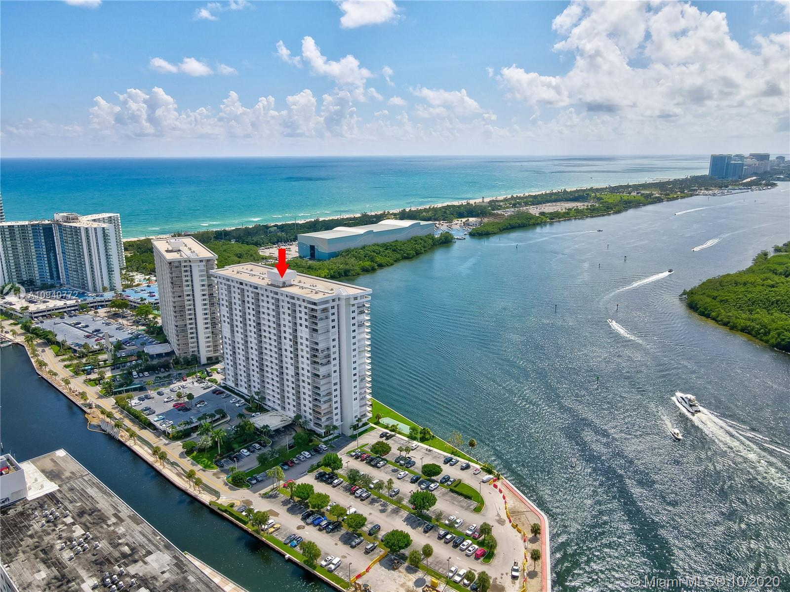 ARLEN HOUSE - BEST LOCATION IN ALL OF SUNNY ISLES. AMAZING INTRACOASTAL AND OCEAN VIEWS FROM 15TH FL