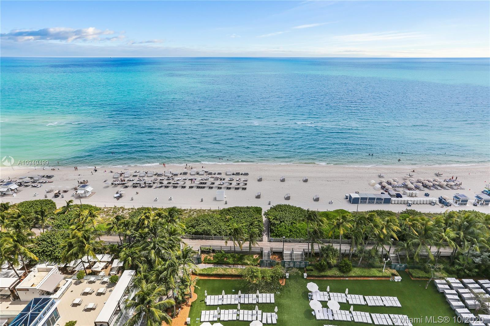 Beautiful 1BD/1.5 BA w/unobstructed direct views of the ocean at Fontainebleau III. Enjoy full servi