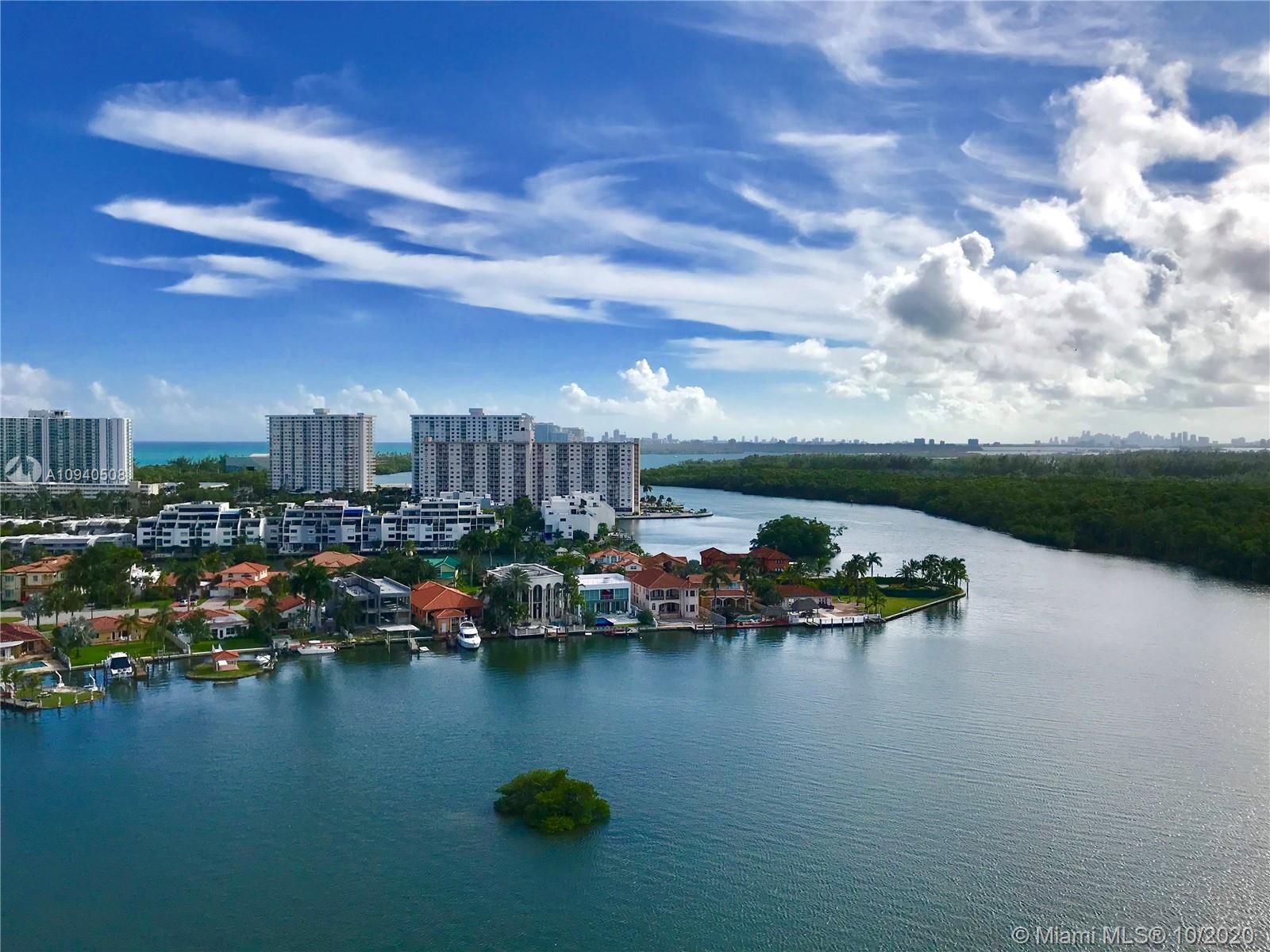 Breathtaking Intracoastal and Ocean views from the impeccable Turn Key residence at the 400 SUNNY IS