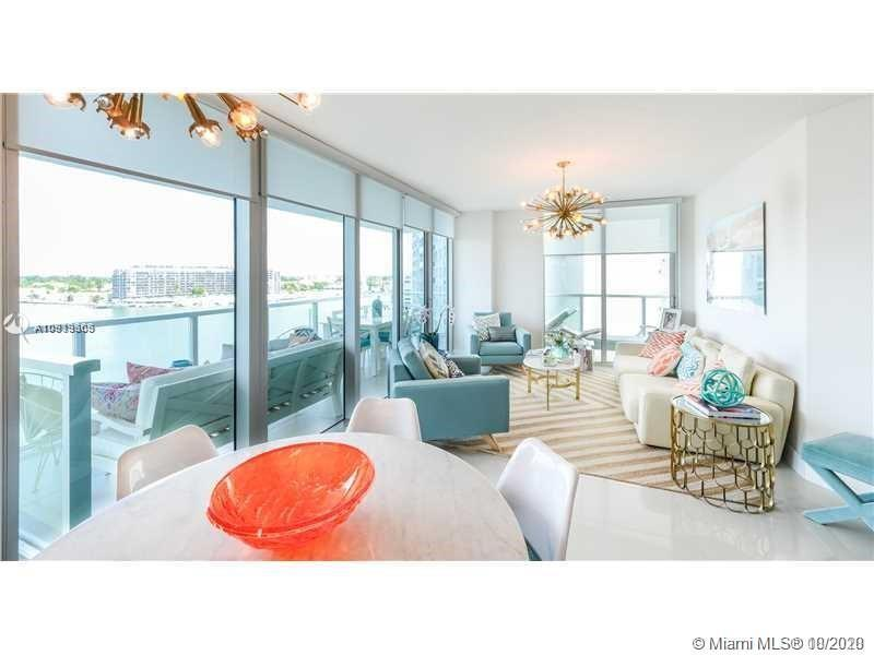 This is the most luxurious condo in North Miami Beach: Featuring wrap-around balcony with amazing in