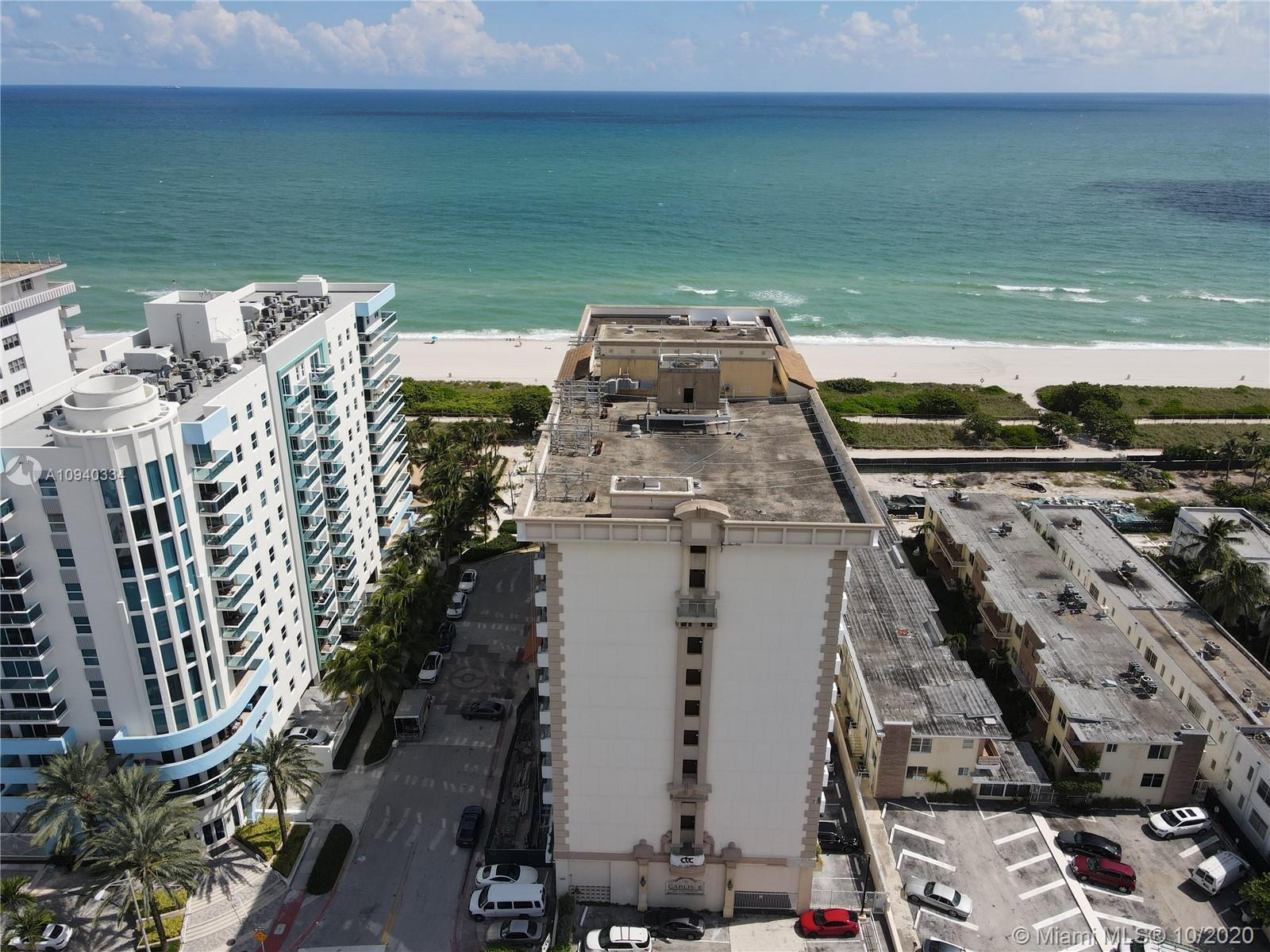 Beautiful ocean view apartment located in Surfside! Spacious 1/1, great amenities and a perfect loca