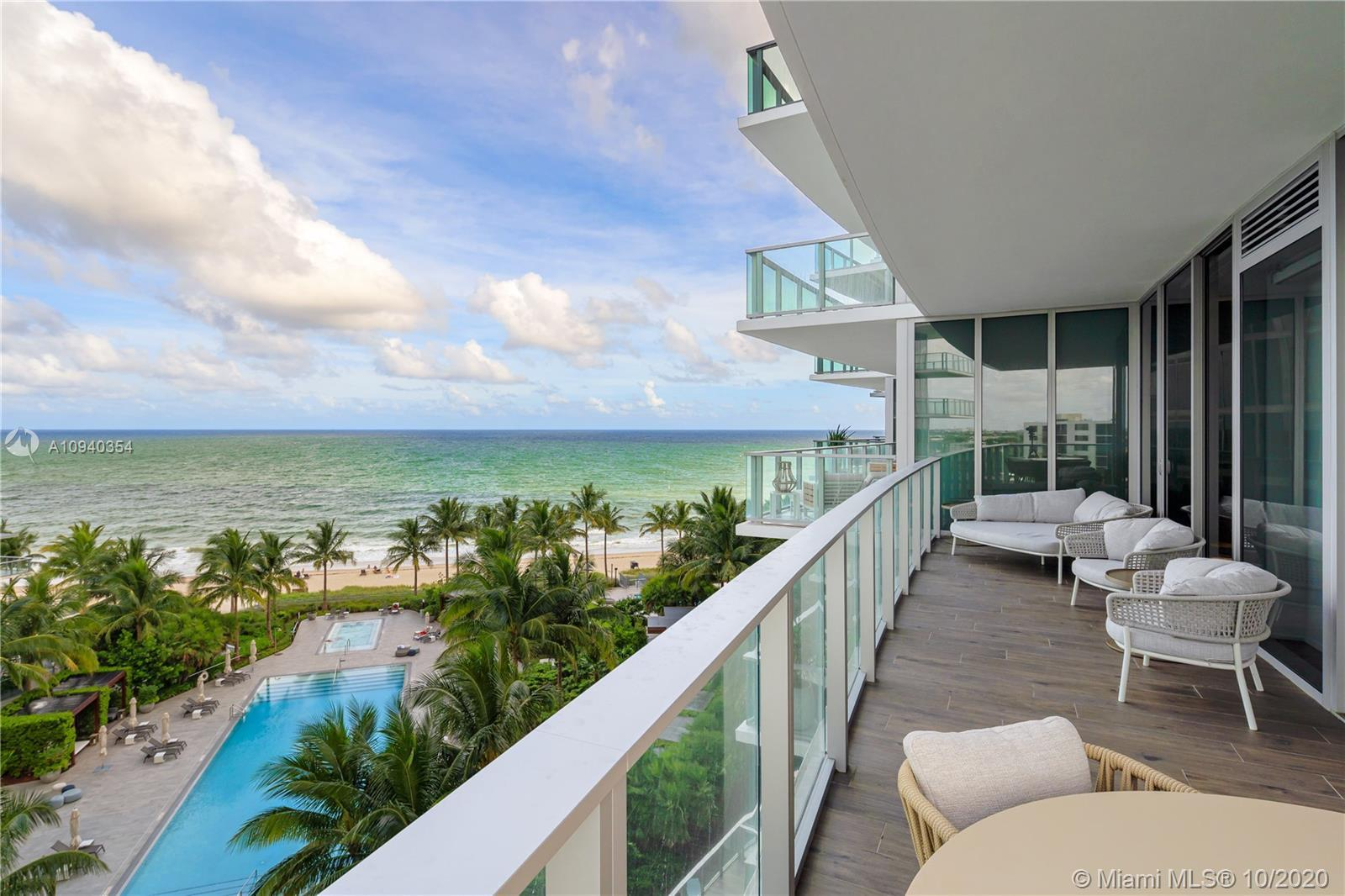 From the pages of a magazine, live on the ocean in this extraordinary 6th floor flow through oceanfr