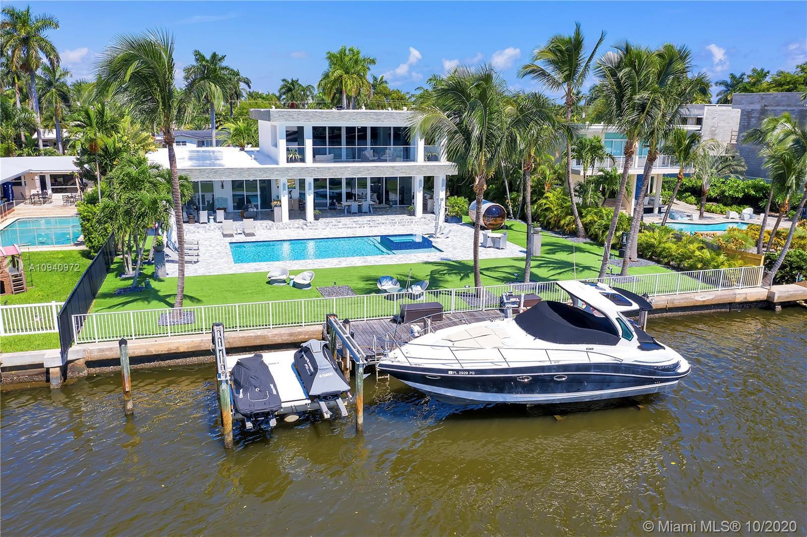 Newly constructed 2019 luxurious waterfront residence, sophisticated and dramatic, yet laid back & s