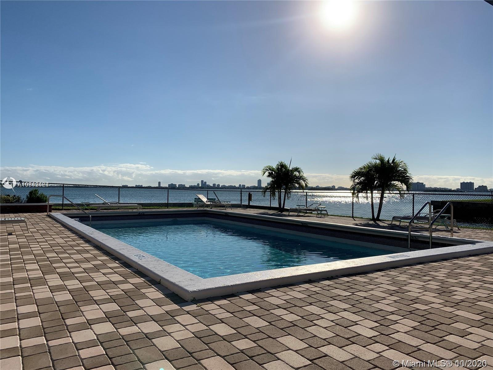 ALWAYS IN HIGH DEMAND, THE SHORES CONDO OFFERS SAFE AND SECURE LIVING IN MIAMI SHORES. THIS BAY-FRON