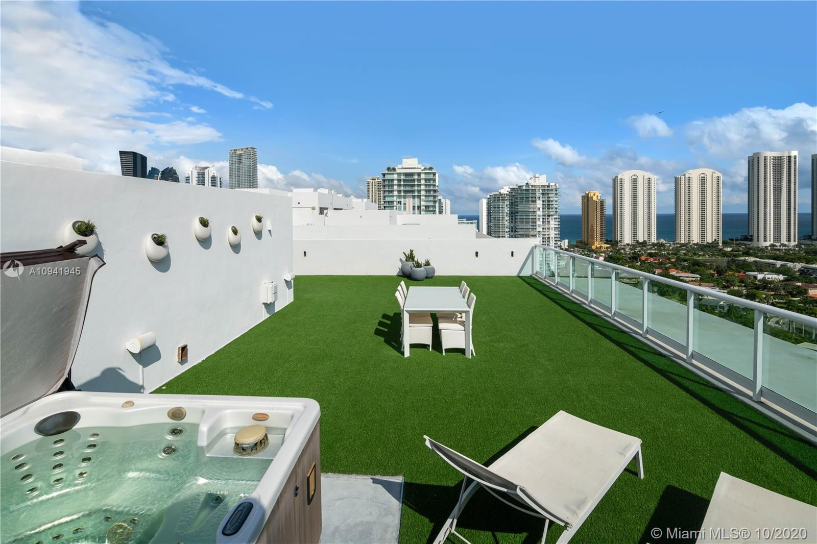OCEAN VEIW FROM ALL ROOMS!!!MOST DESIRABLE UNIT IN THE BUILDING! 3 STORIES ,20 FEET CEILINGS LOFT ST