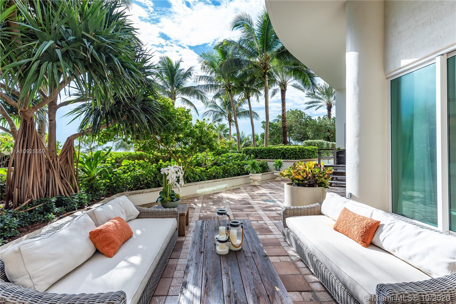 No elevator needed to enter this rarely available lanai unit in the North tower at prestigious Turnb
