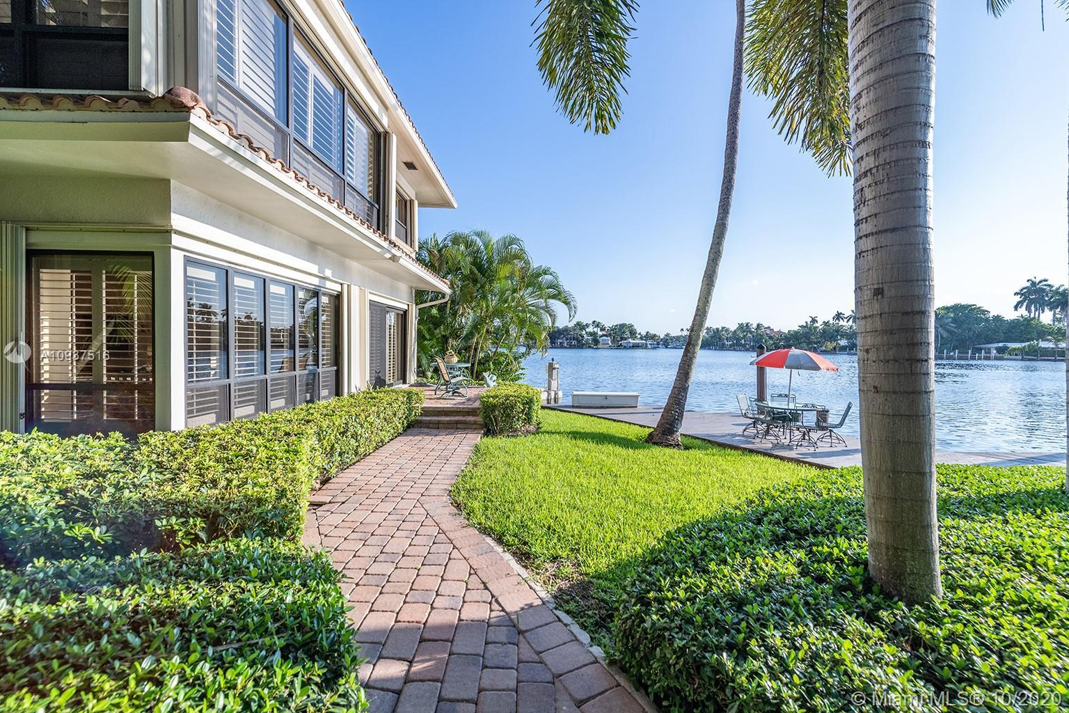 Enjoy the benefits of a private waterfront home with boat dockage but with the maintenance free ease