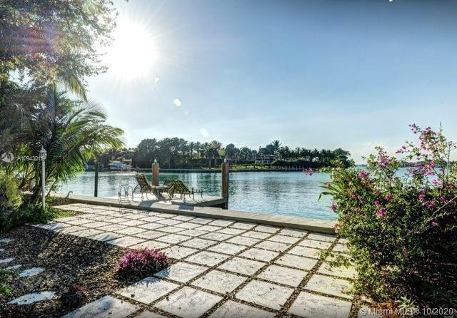 Waterfront Gem in Surfside- Wide Bay View, across from Indian Creek Island. Priced to Sell. Newer 55