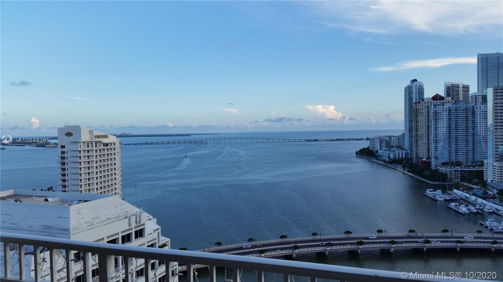 AMAZING 25TH FLOOR CORNER UNIT WITH THE MOST IMPRESSIVE UNOBSTRUCTED BAY & OCEAN VIEWS!  TOTALLY REM